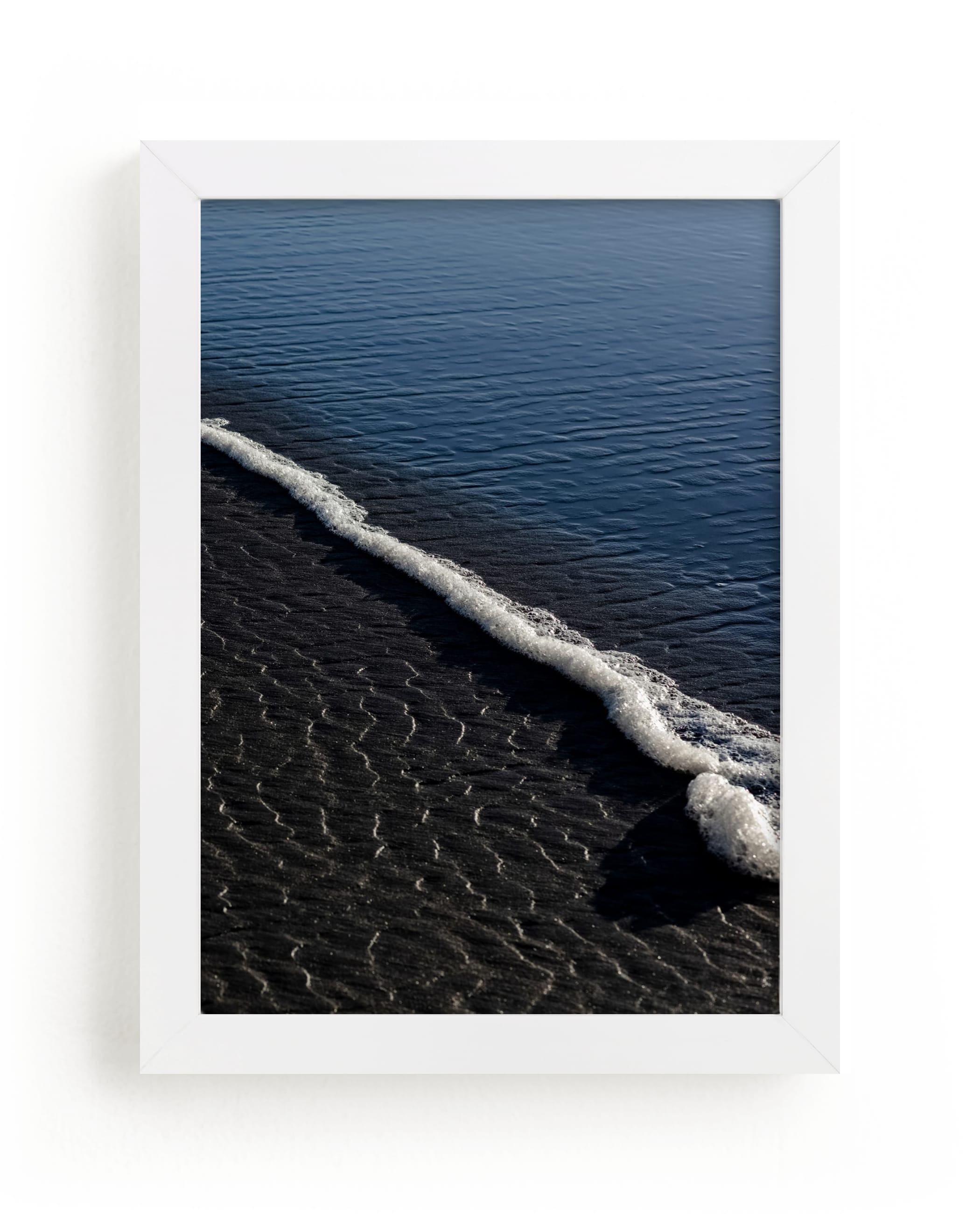 """""""Negative Space: Shoreline II"""" - Limited Edition Art Print by Jessica C. Nugent in beautiful frame options and a variety of sizes."""