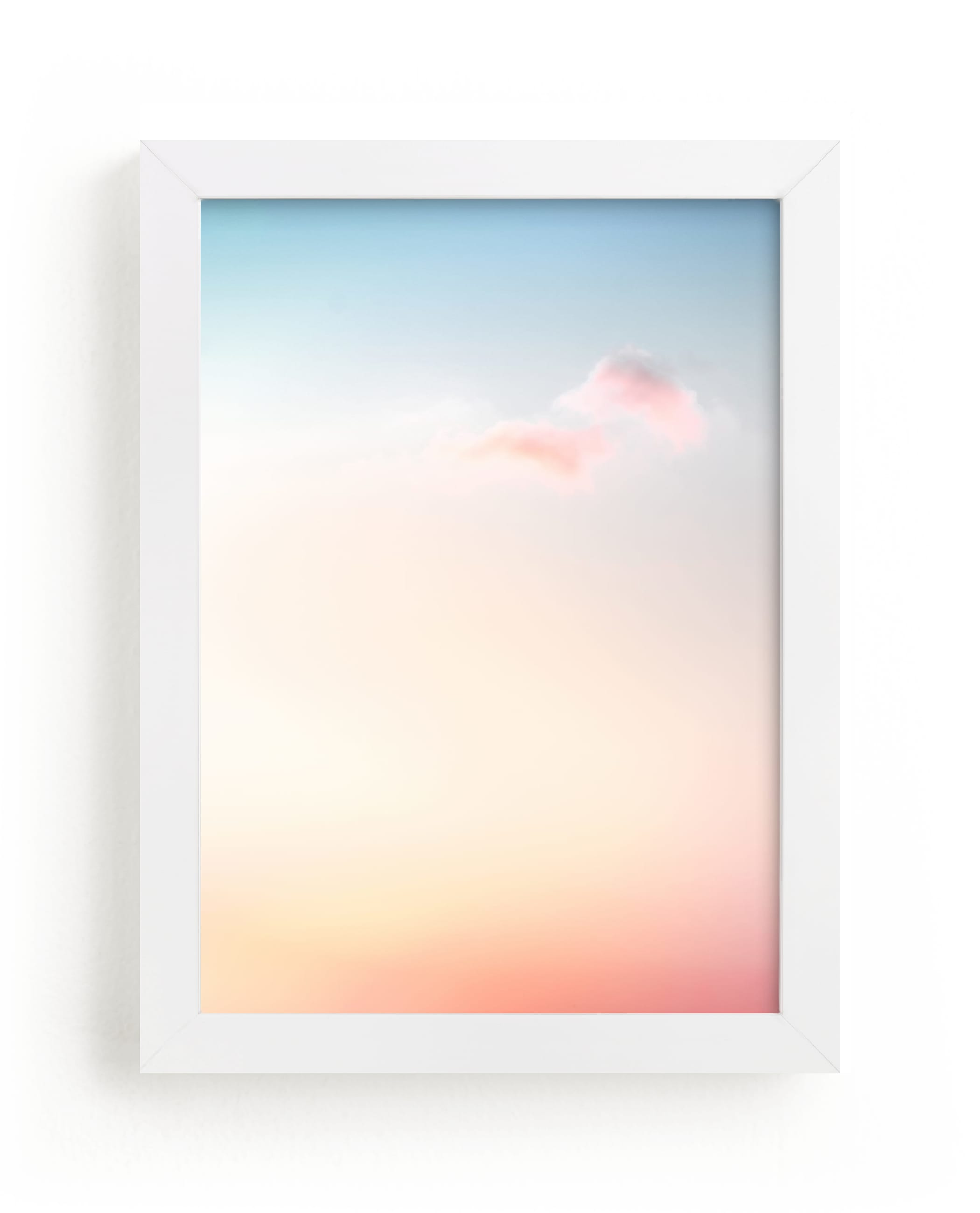 """Rainbow Sky II"" - Limited Edition Art Print by Kamala Nahas in beautiful frame options and a variety of sizes."