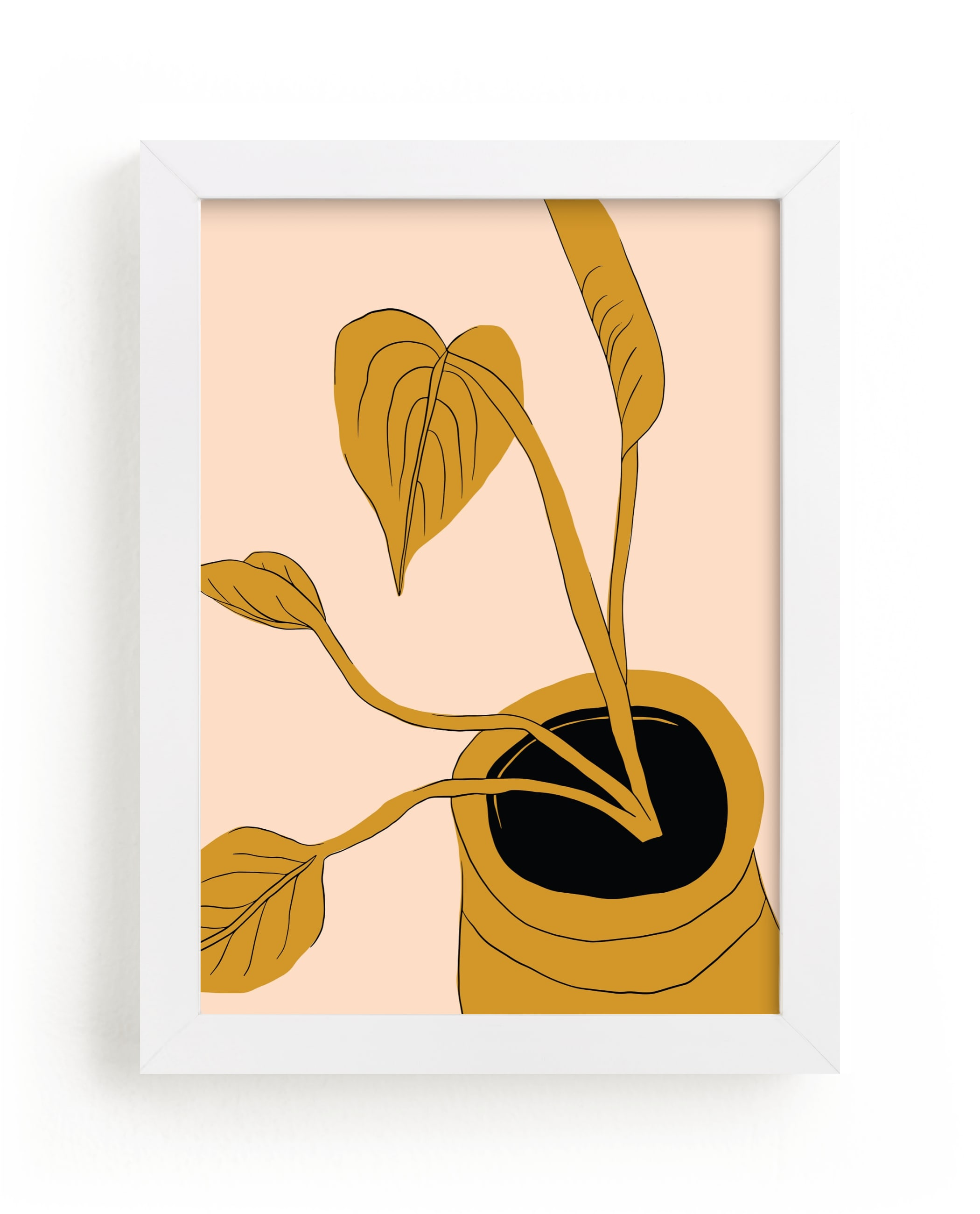 """""""My Heart Grows"""" - Limited Edition Art Print by Alicia Schultz in beautiful frame options and a variety of sizes."""