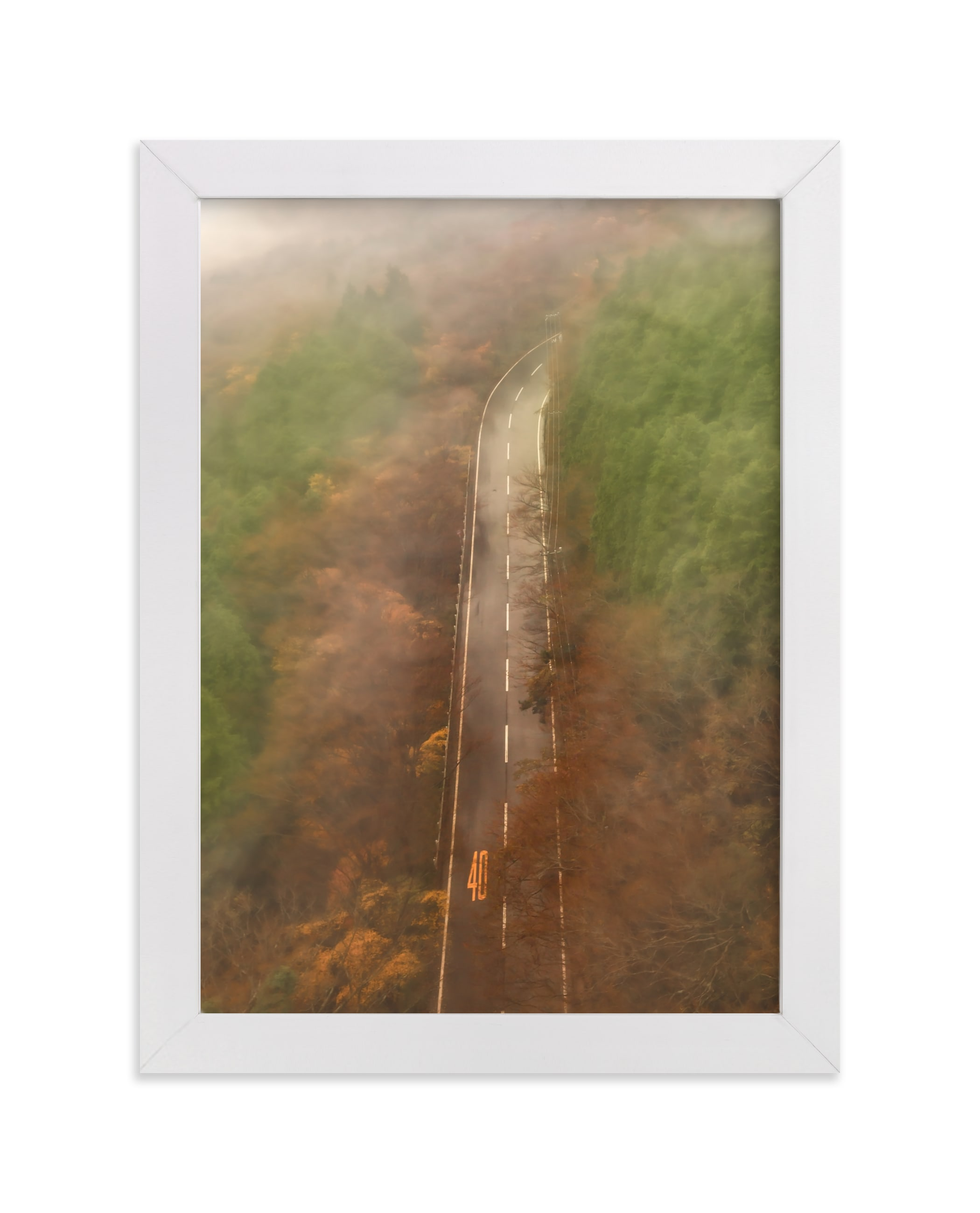 """""""Slow pace"""" - Limited Edition Art Print by Van Tsao in beautiful frame options and a variety of sizes."""
