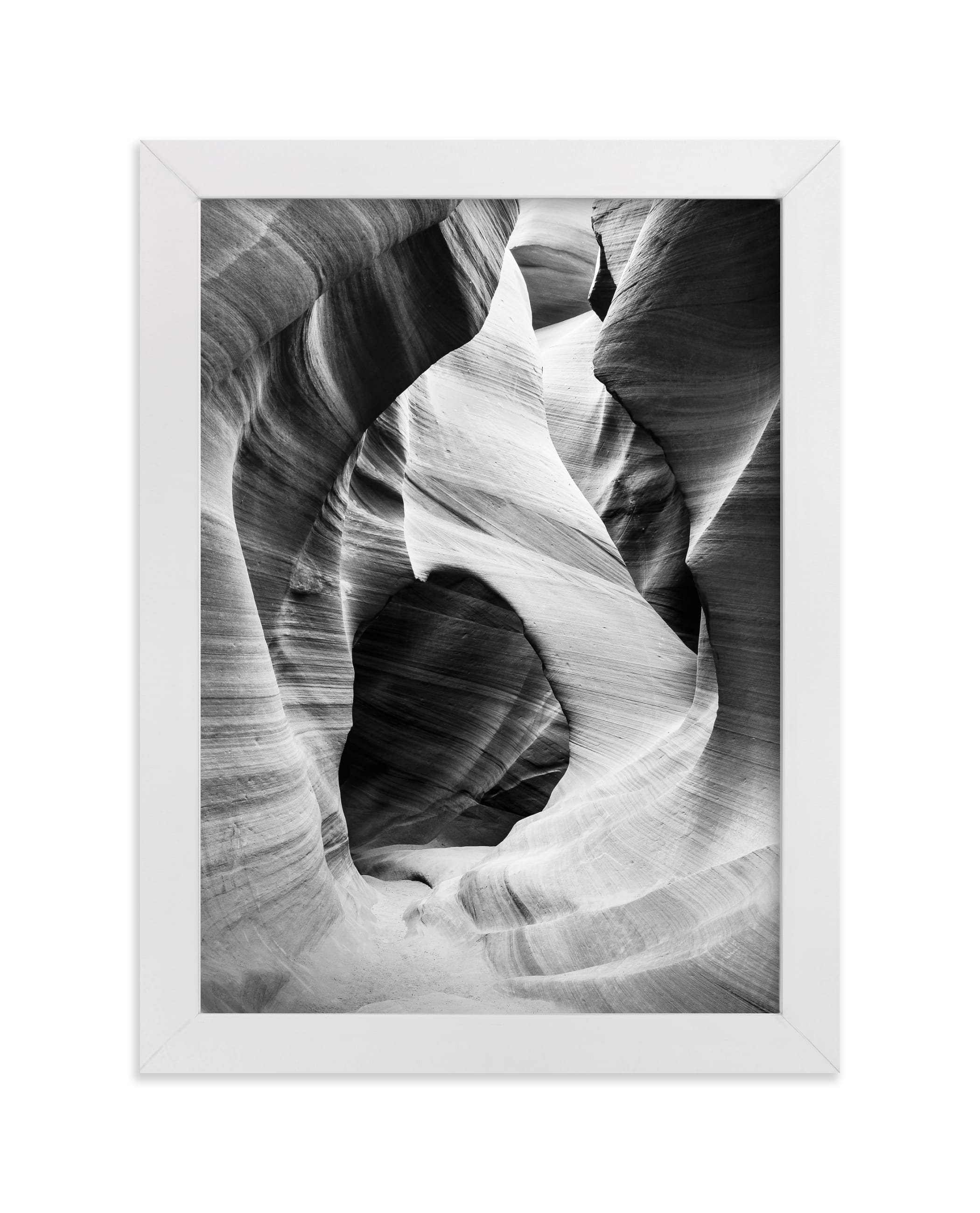 """""""Canyon 1"""" - Limited Edition Art Print by Kamala Nahas in beautiful frame options and a variety of sizes."""