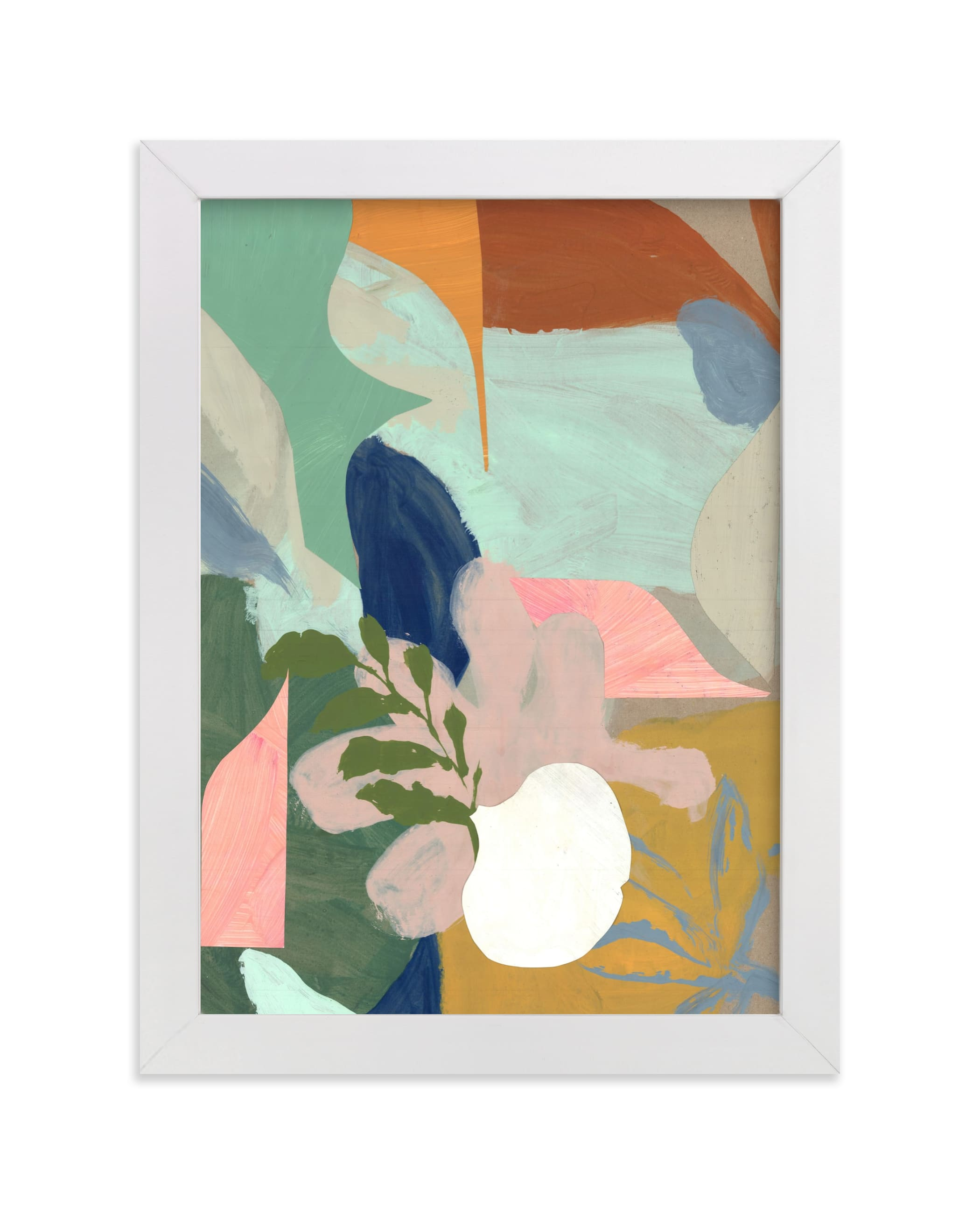 """""""Birthday Bouquet I"""" - Limited Edition Art Print by cyrille gulassa in beautiful frame options and a variety of sizes."""