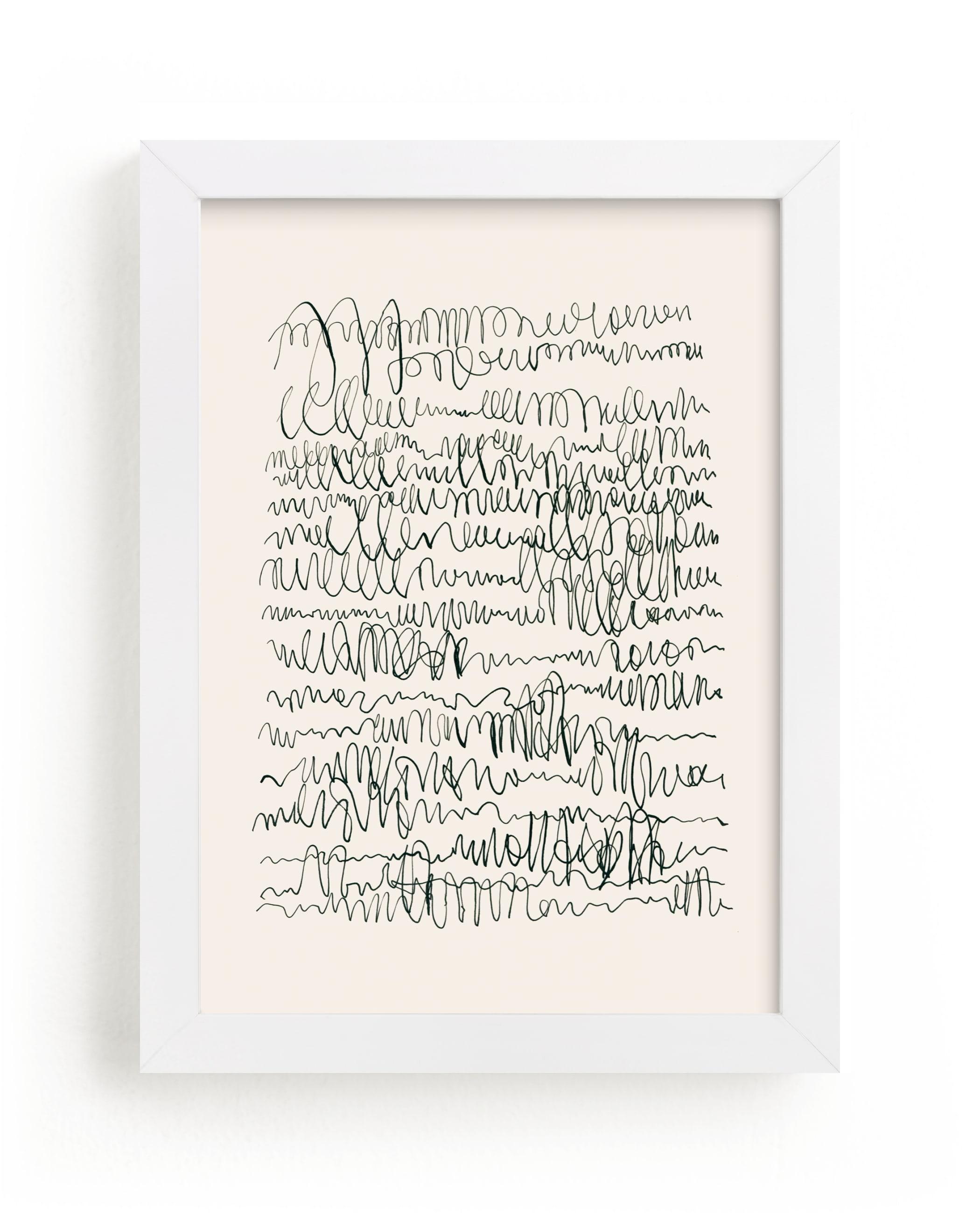 Nature, you and me N.4 I Wall Art Print