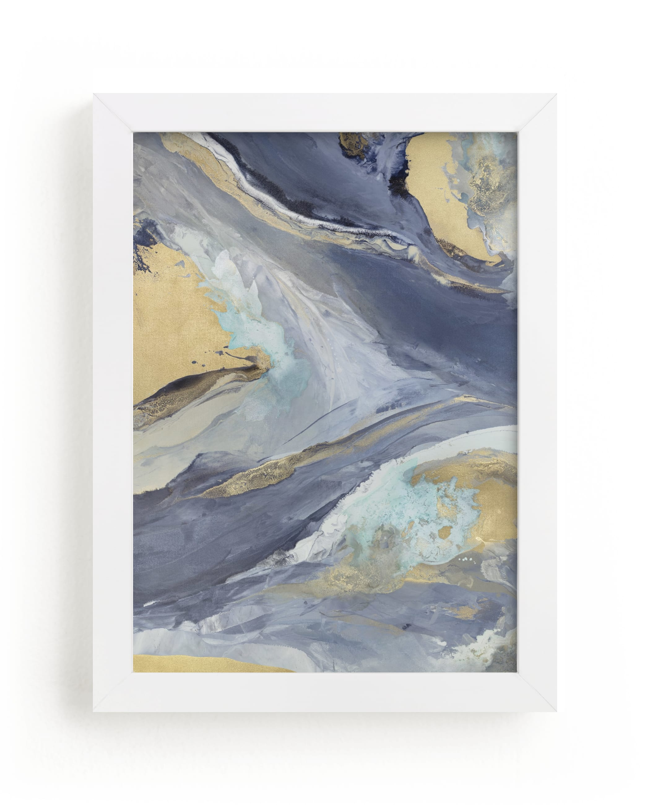 """""""Cascading Light"""" - Limited Edition Art Print by Julia Contacessi in beautiful frame options and a variety of sizes."""