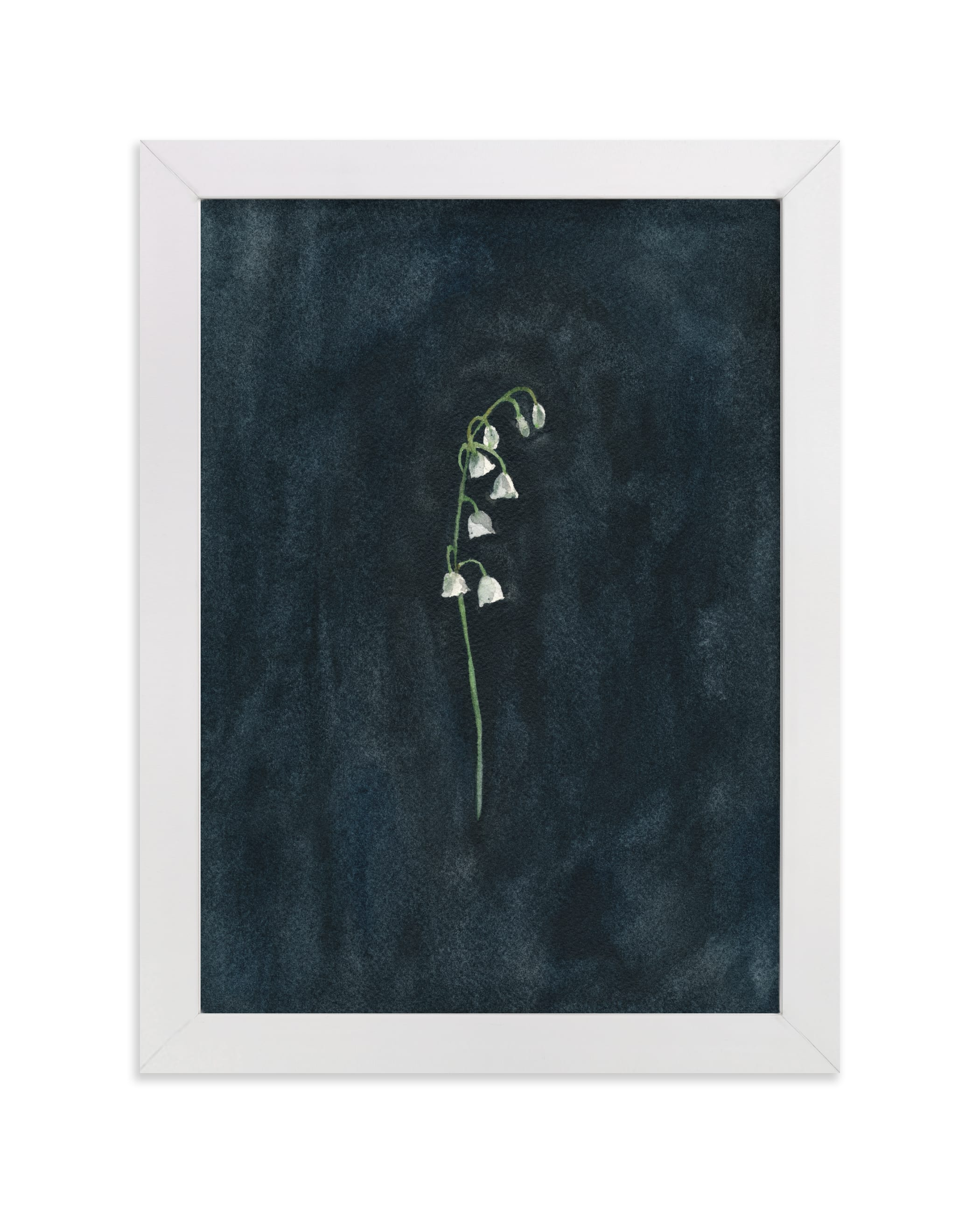 """Remember: Lily of the Valley"" - Limited Edition Art Print by Renee Anne Bouffard-McManus in beautiful frame options and a variety of sizes."