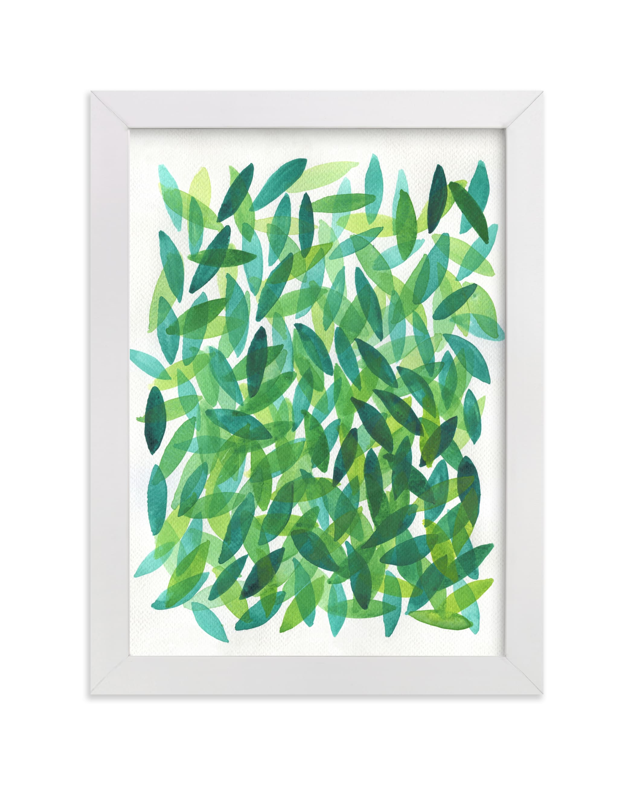 """""""Falling Leaves"""" - Limited Edition Art Print by Tennyson Tippy in beautiful frame options and a variety of sizes."""