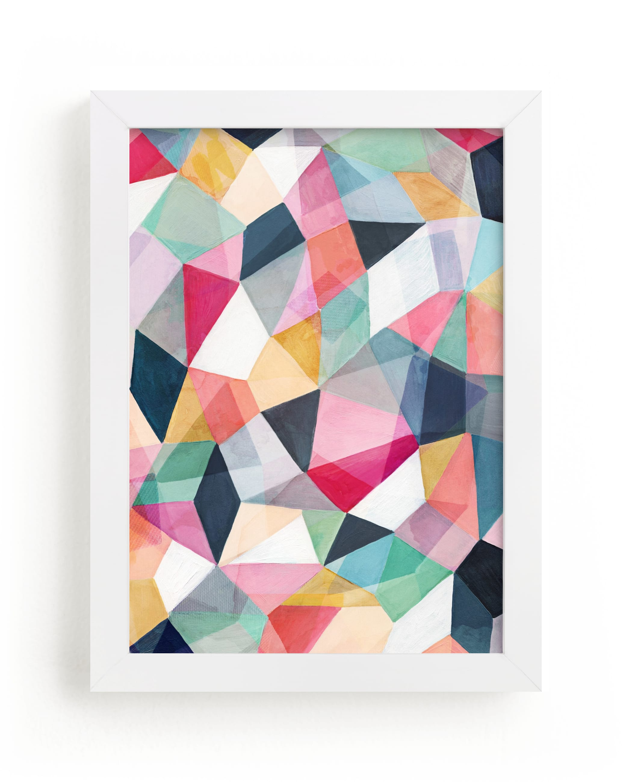 """""""Kaleidoscope No.1"""" - Limited Edition Art Print by Hooray Creative in beautiful frame options and a variety of sizes."""