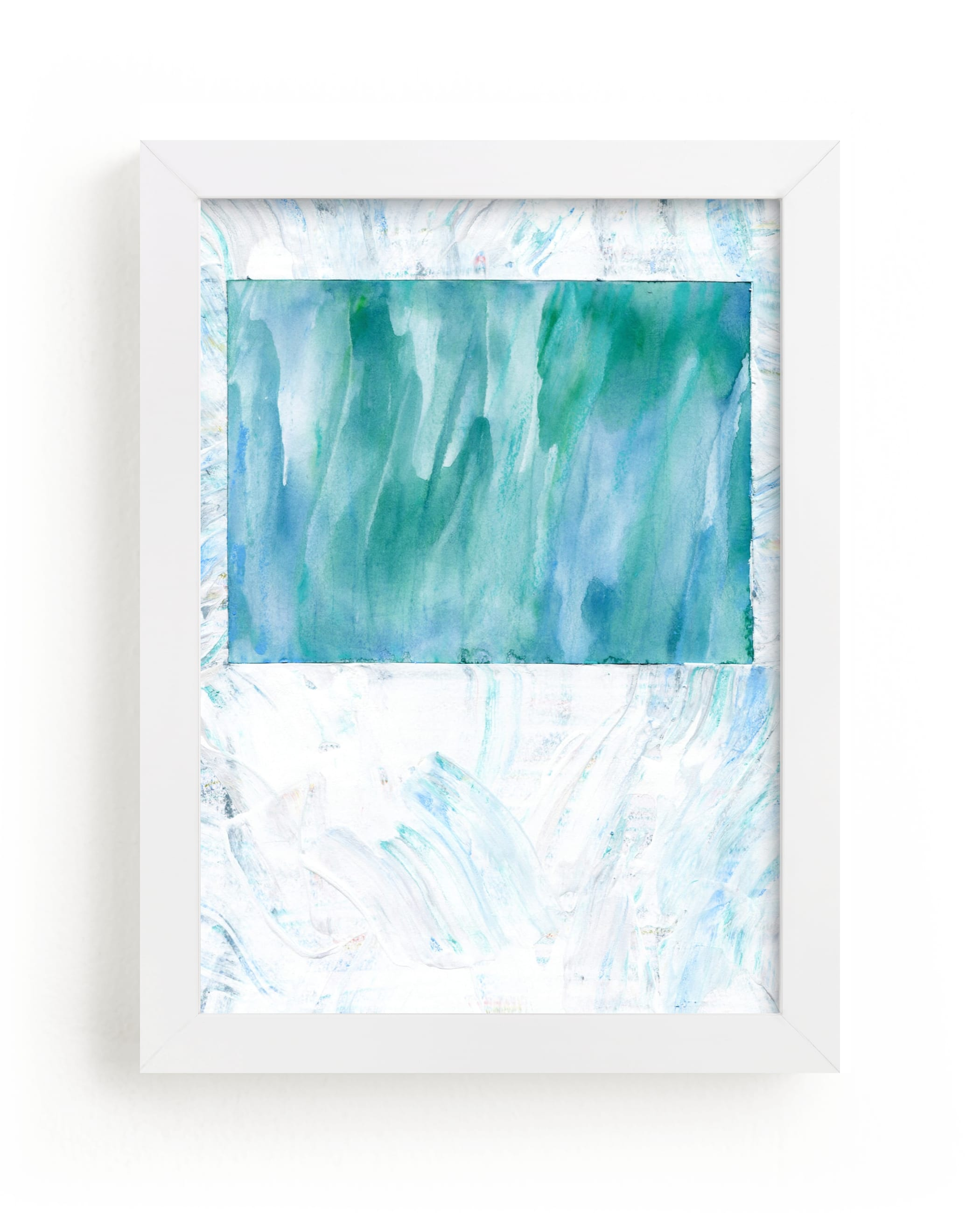 """""""Colorado in Paint"""" - Limited Edition Art Print by Denise Wong in beautiful frame options and a variety of sizes."""
