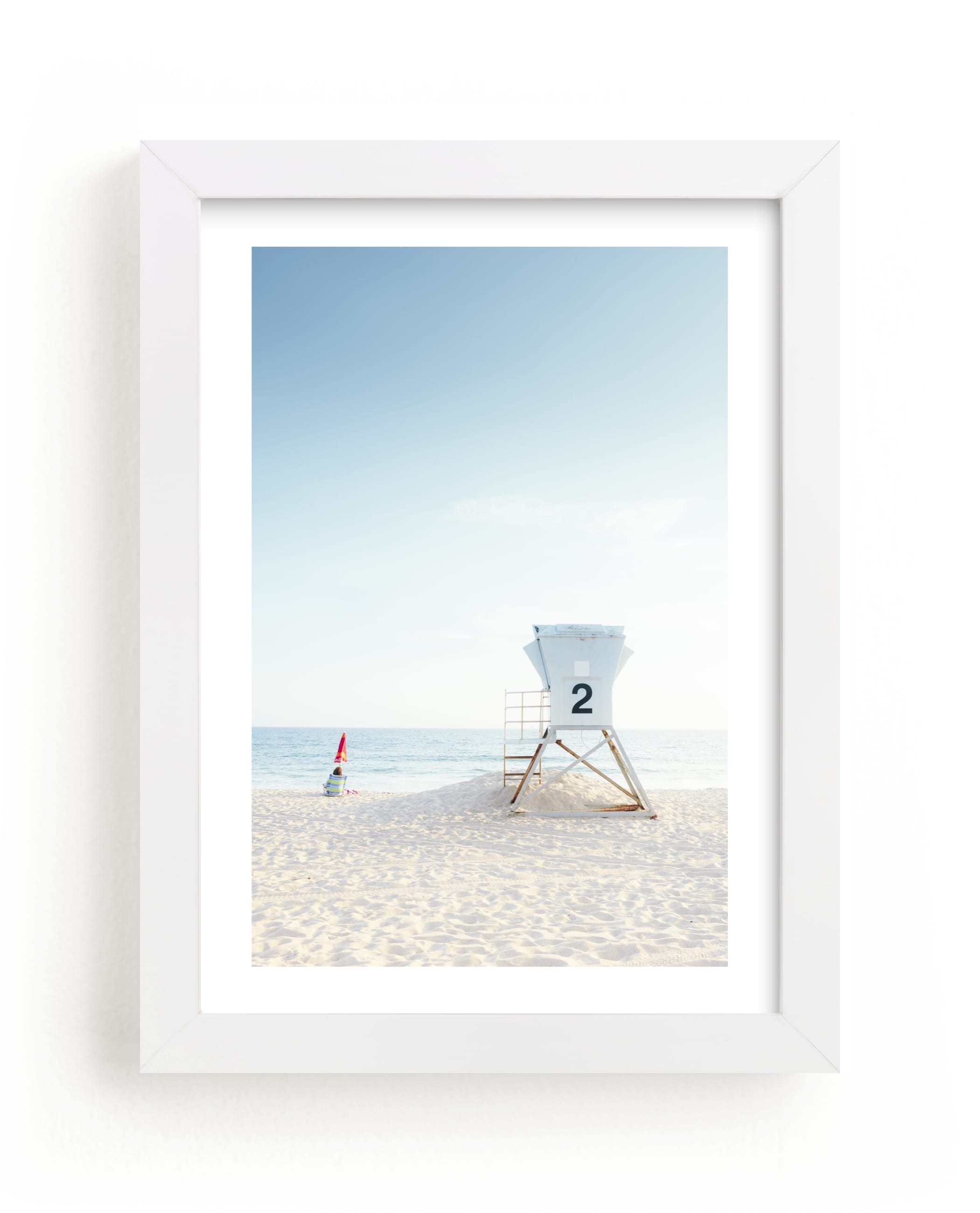 """""""Tower 2"""" - Limited Edition Art Print by Kamala Nahas in beautiful frame options and a variety of sizes."""