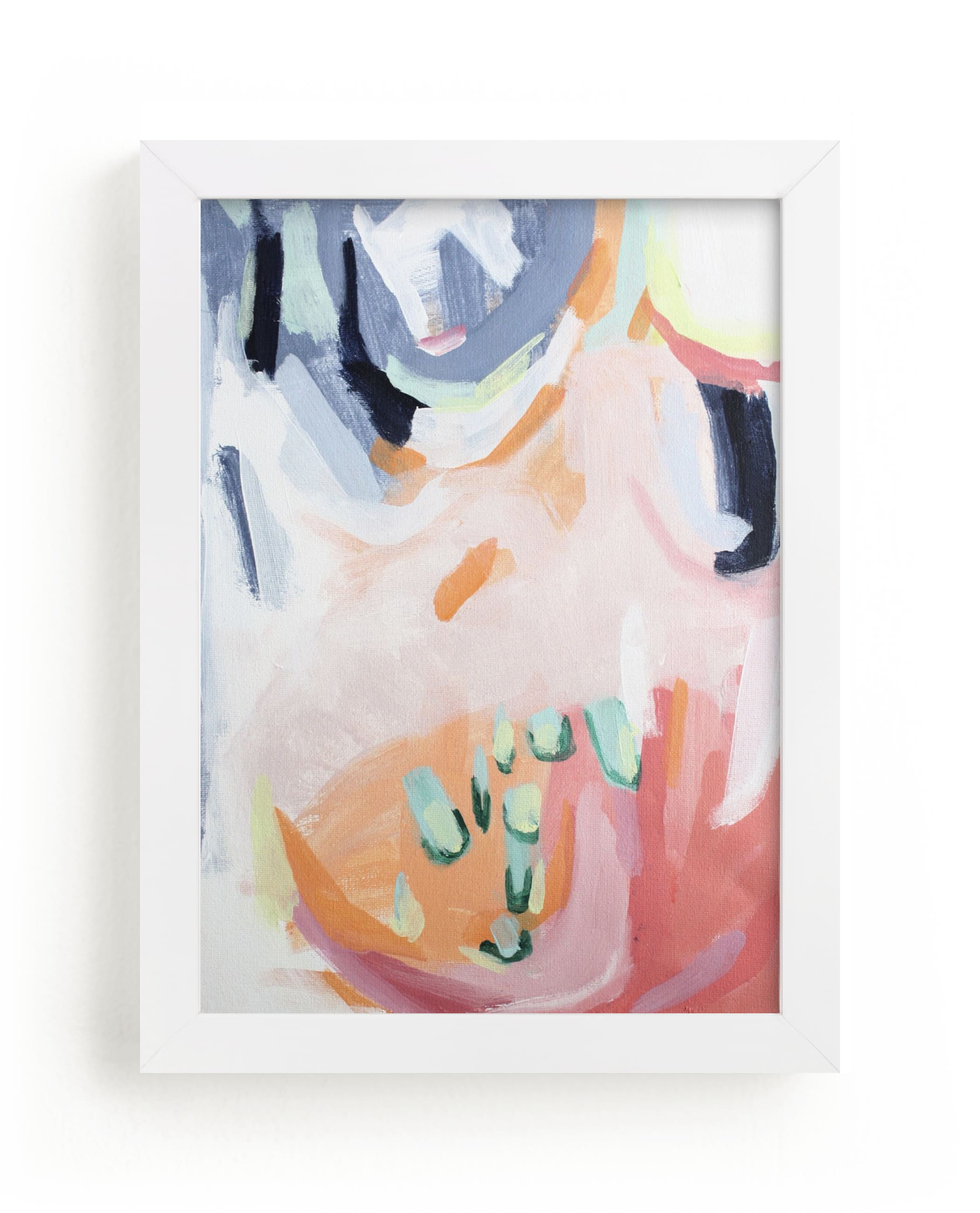 """""""Dream Peachy"""" - Limited Edition Art Print by Jihye Back Kim in beautiful frame options and a variety of sizes."""