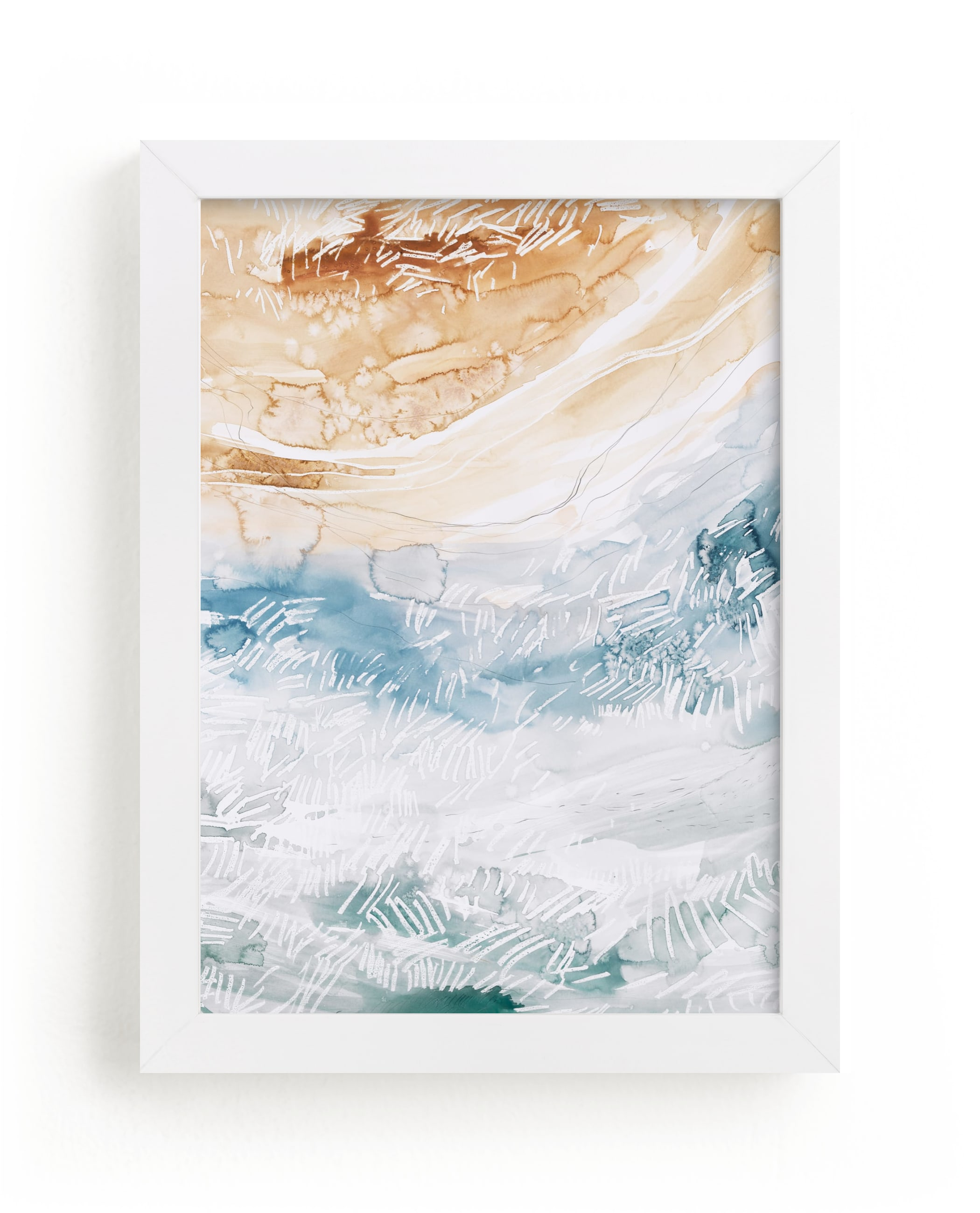 """""""Sediment No 1"""" - Limited Edition Art Print by Kelly Ventura in beautiful frame options and a variety of sizes."""