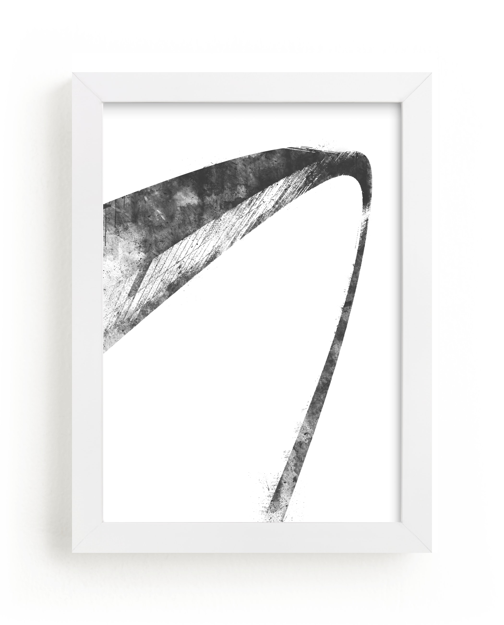 St Louis Arch 11 x 14 Framed Pencil Drawing