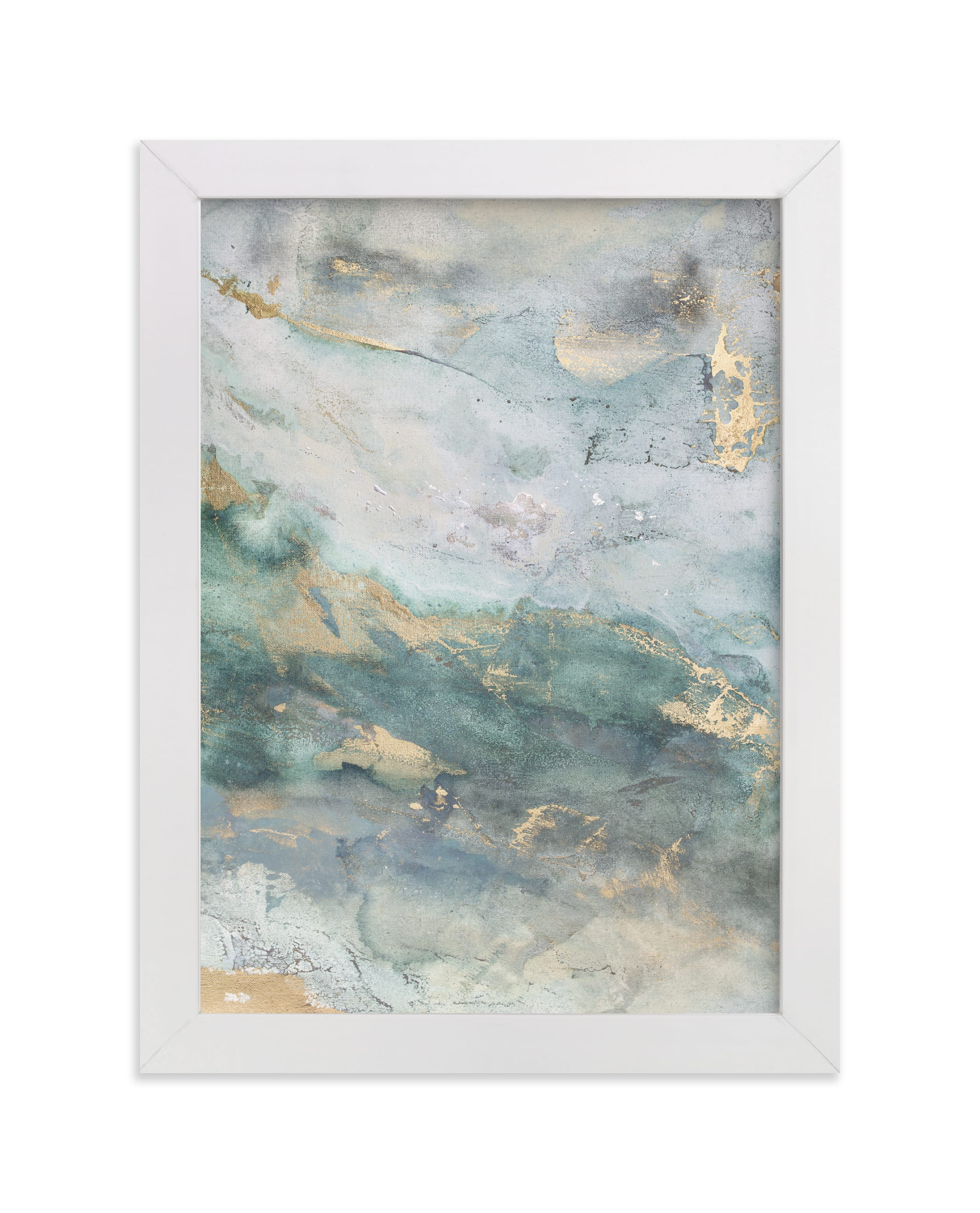"""""""Luminous Smoke No. 1"""" - Limited Edition Art Print by Julia Contacessi in beautiful frame options and a variety of sizes."""