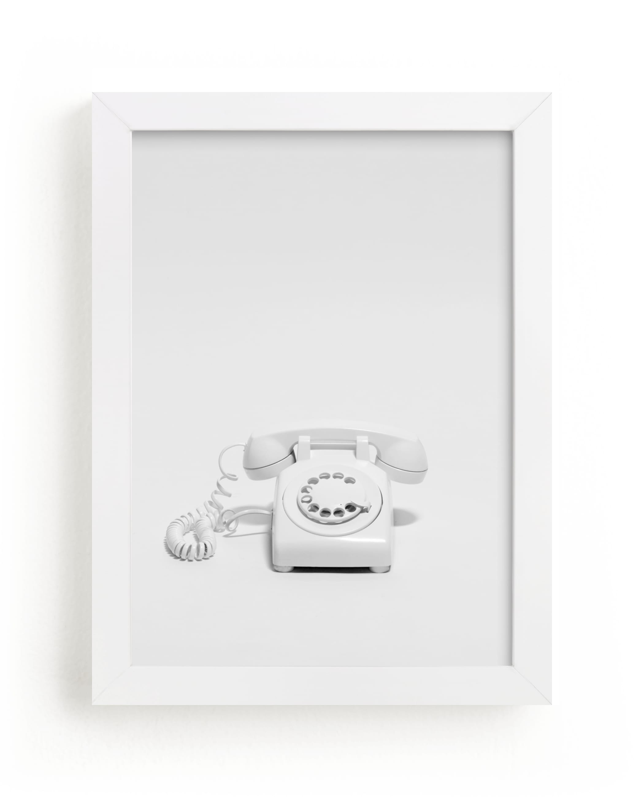 """Telephone"" - Limited Edition Art Print by Cristiane in beautiful frame options and a variety of sizes."