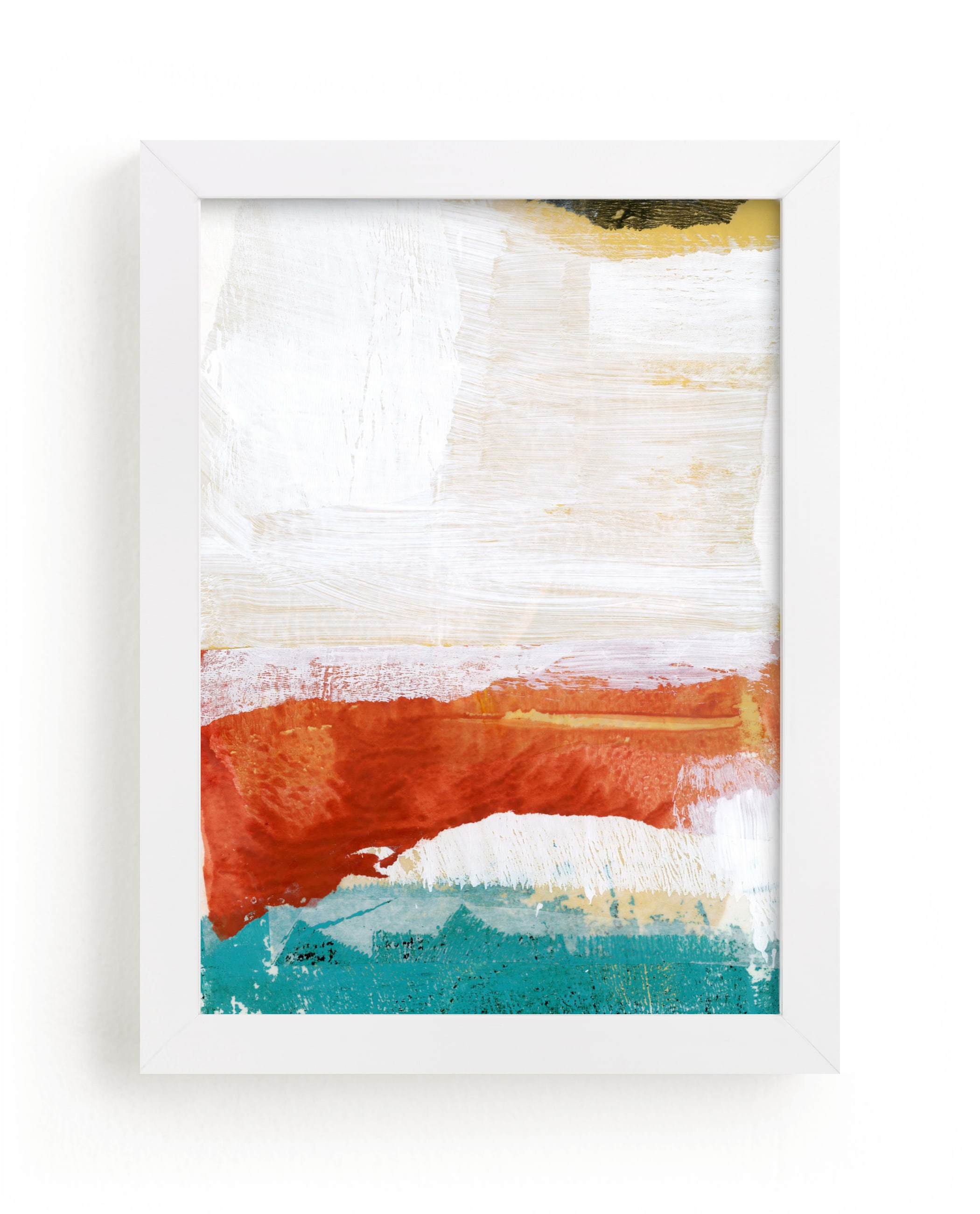"""To The Sea II"" - Limited Edition Art Print by sue prue in beautiful frame options and a variety of sizes."