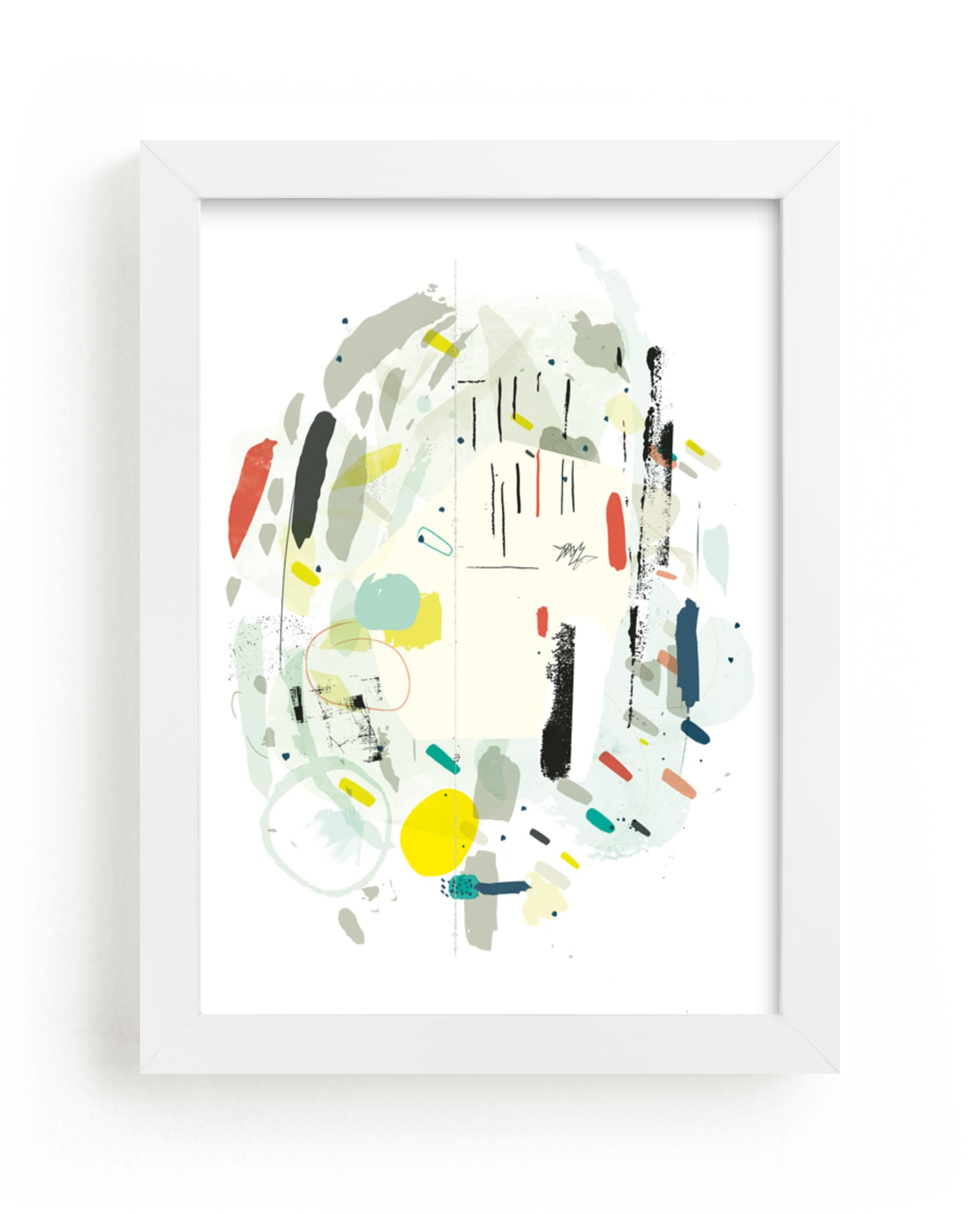 """""""Minx"""" - Limited Edition Art Print by Lori Wemple in beautiful frame options and a variety of sizes."""