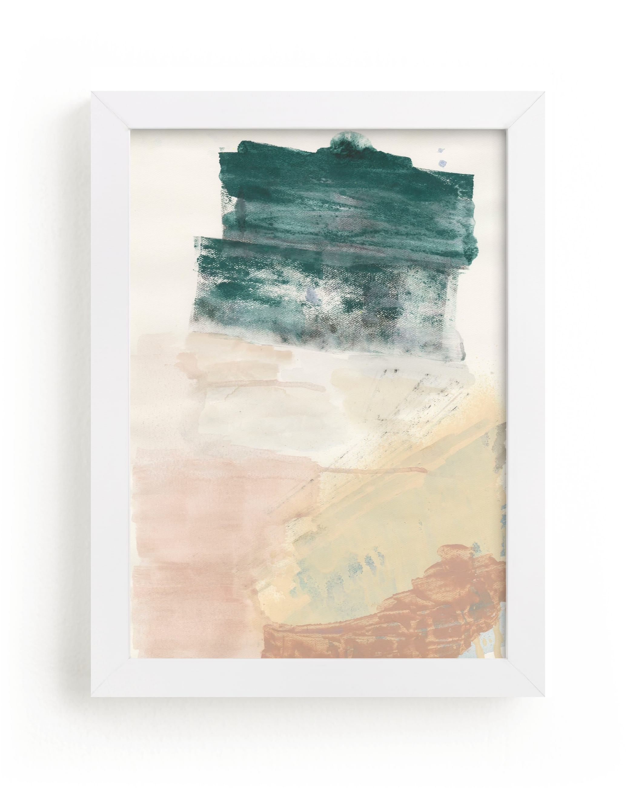 """""""The Layers Beneath"""" - Limited Edition Art Print by Lauren Packard in beautiful frame options and a variety of sizes."""