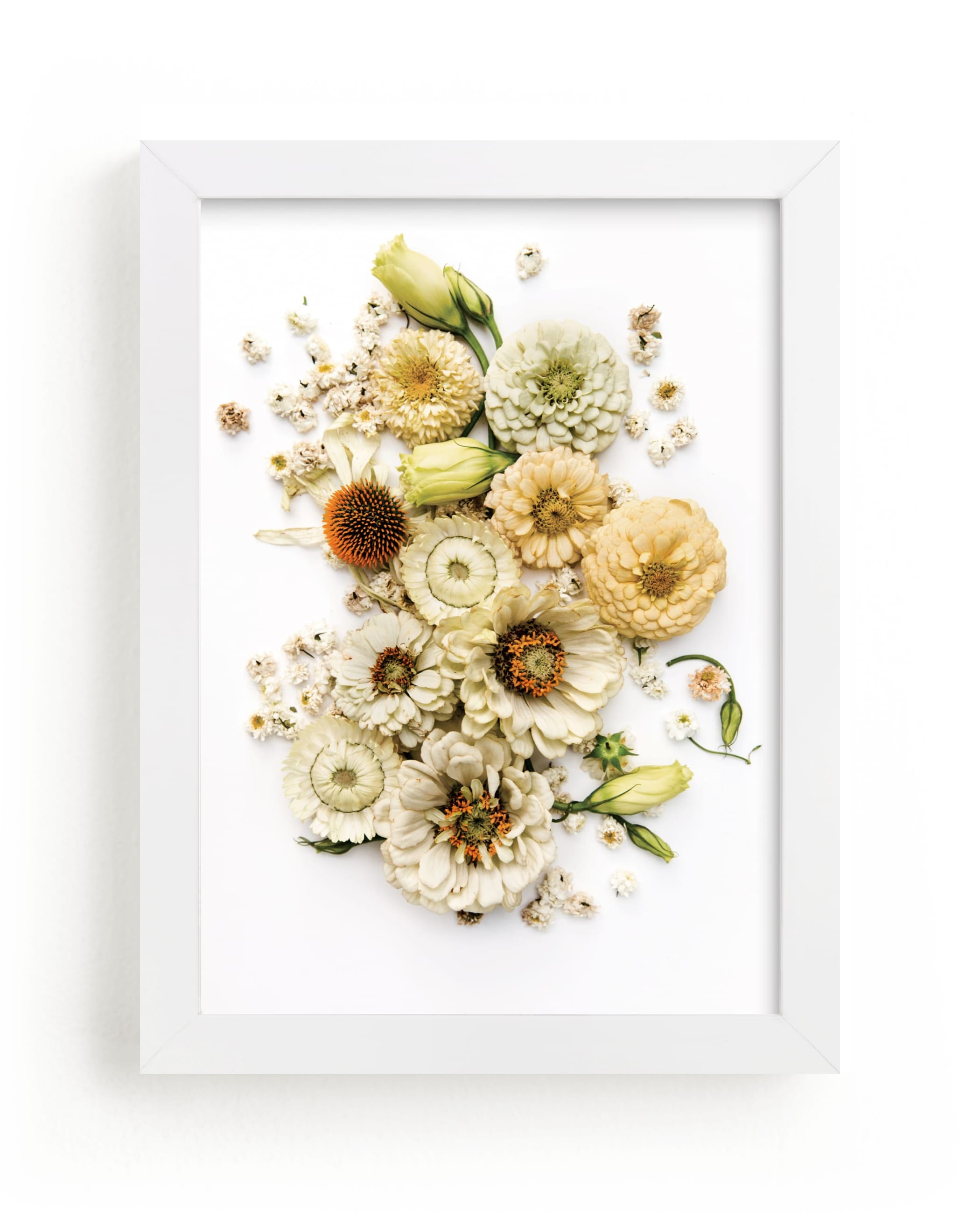 """""""Peaceful Heart"""" - Limited Edition Art Print by Theresa Bear in beautiful frame options and a variety of sizes."""