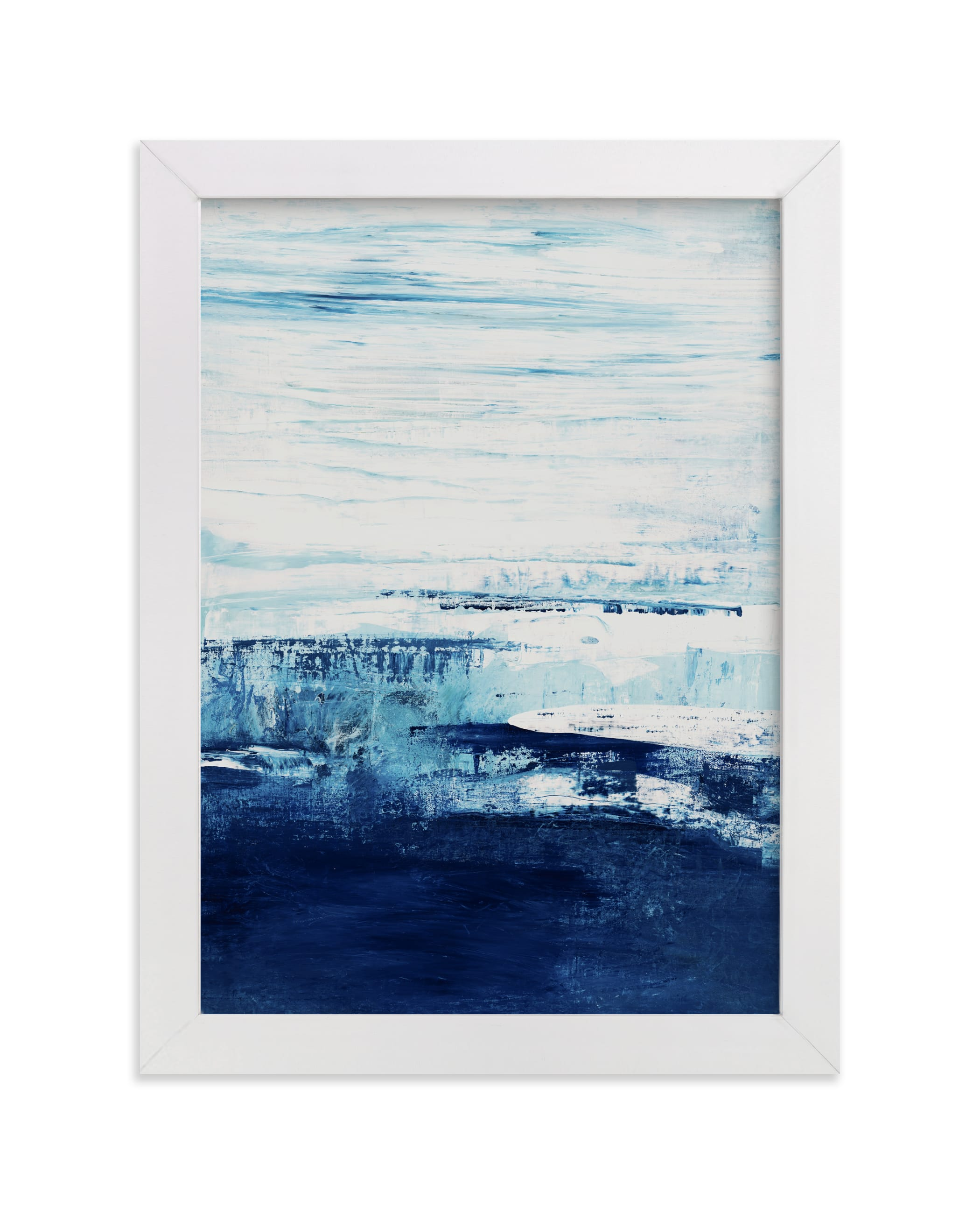 """""""Ice Out"""" - Limited Edition Art Print by Karen Kaul in beautiful frame options and a variety of sizes."""