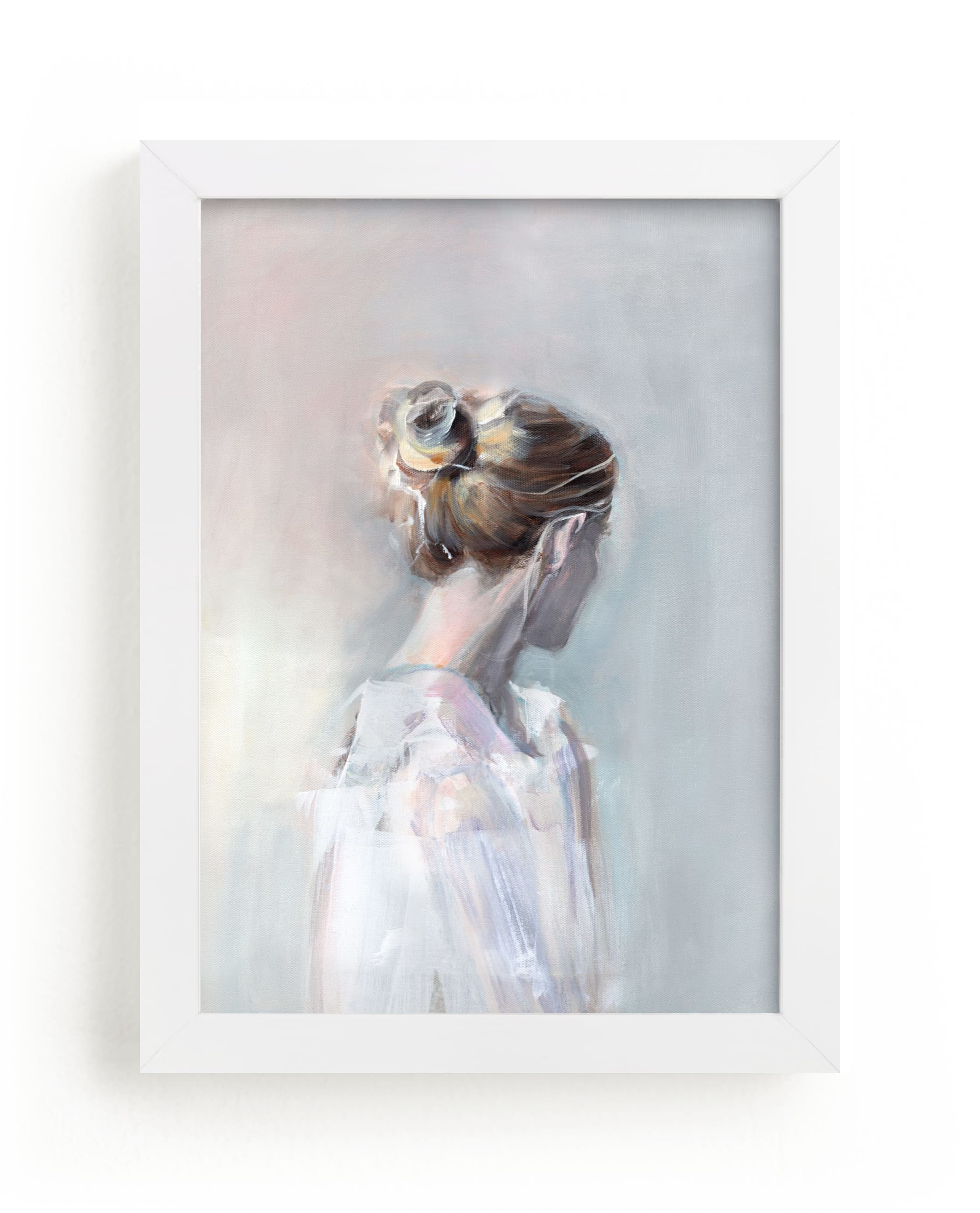 """""""Linger"""" - Limited Edition Art Print by Sarah McInroe in beautiful frame options and a variety of sizes."""