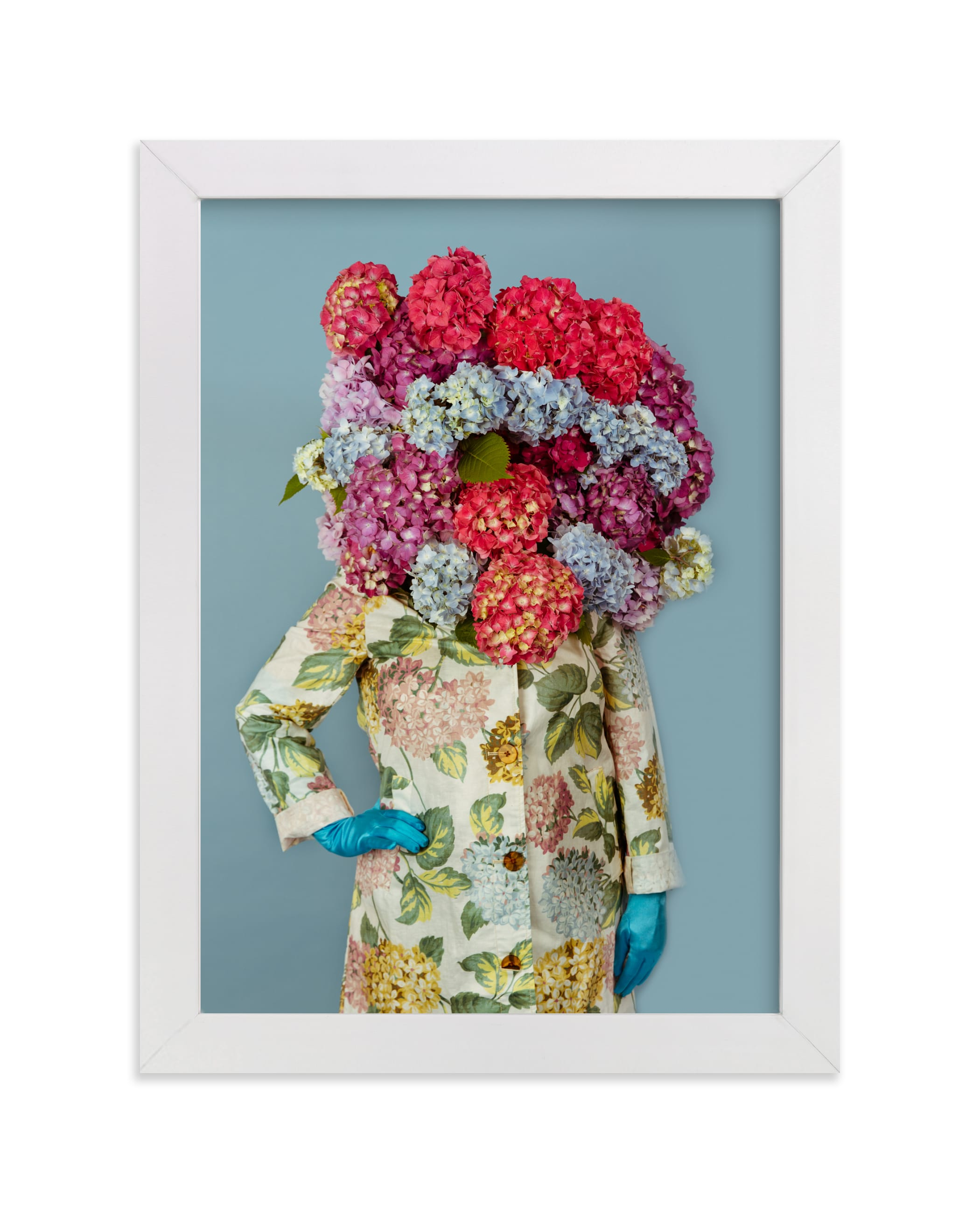 """""""Shes Blooming Worth """" - Limited Edition Art Print by Theresa Bear in beautiful frame options and a variety of sizes."""