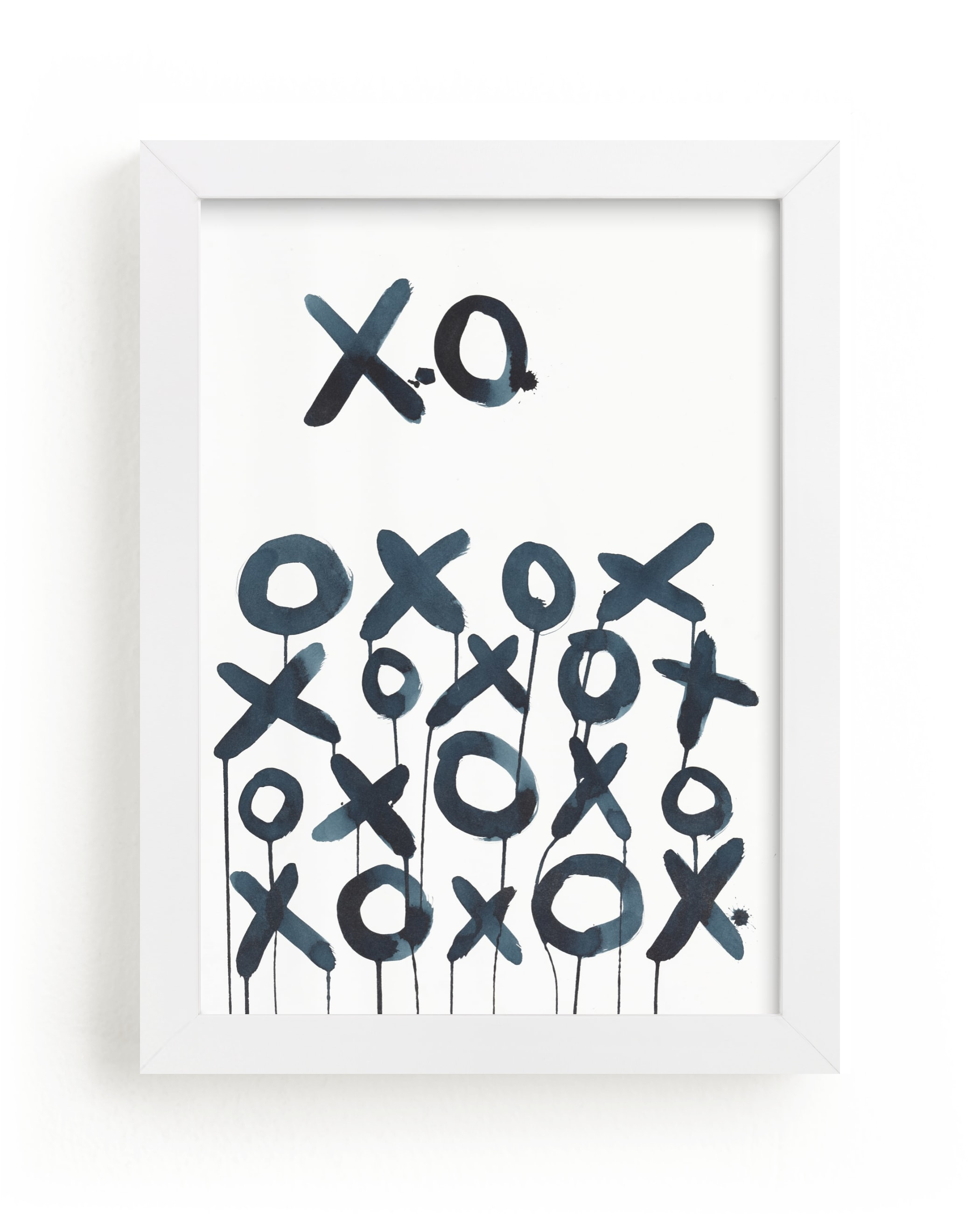 """XO Sol"" - Limited Edition Art Print by Michelle Owenby Design in beautiful frame options and a variety of sizes."