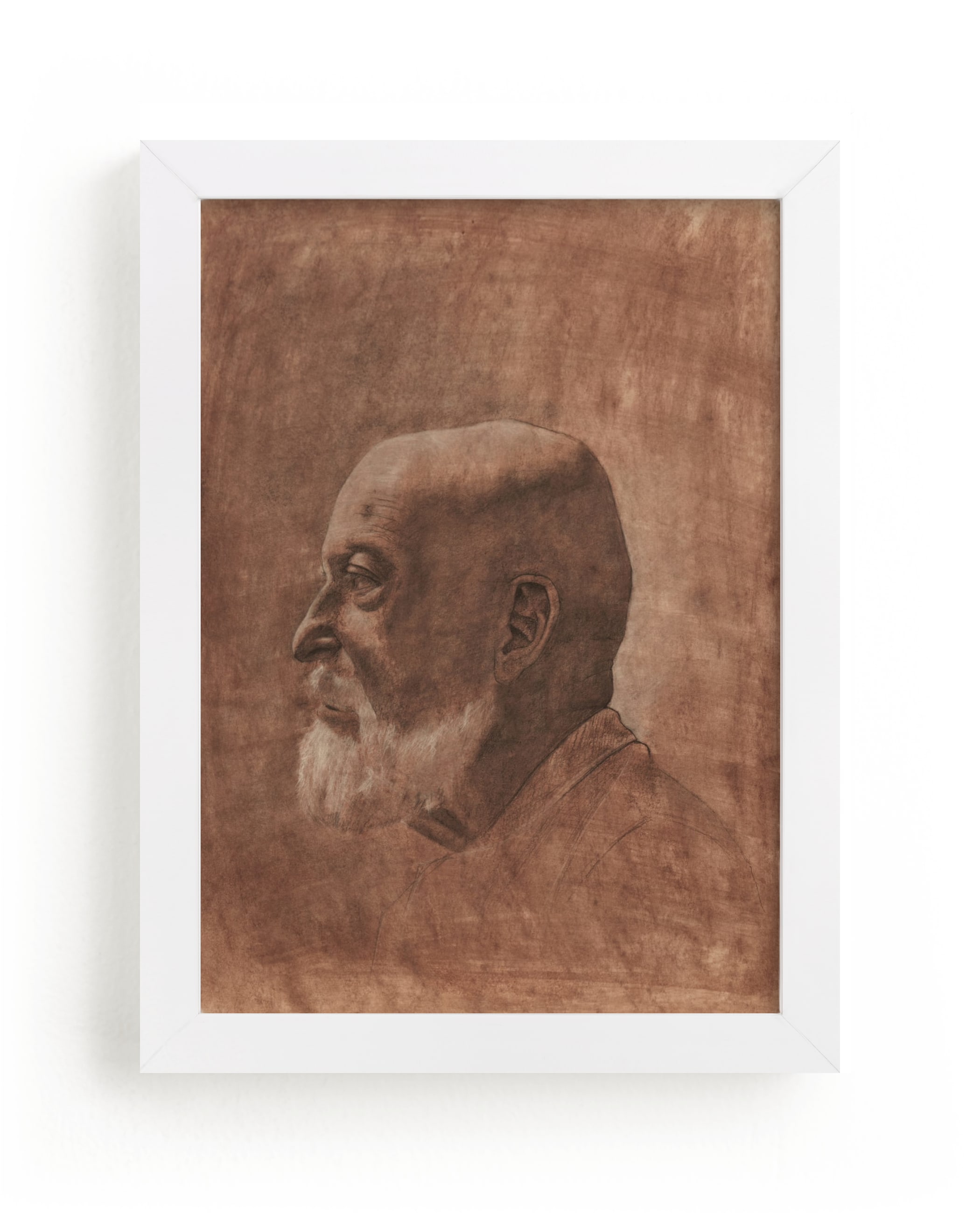 """""""Human One: Anton"""" - Limited Edition Art Print by Colin Stuart in beautiful frame options and a variety of sizes."""