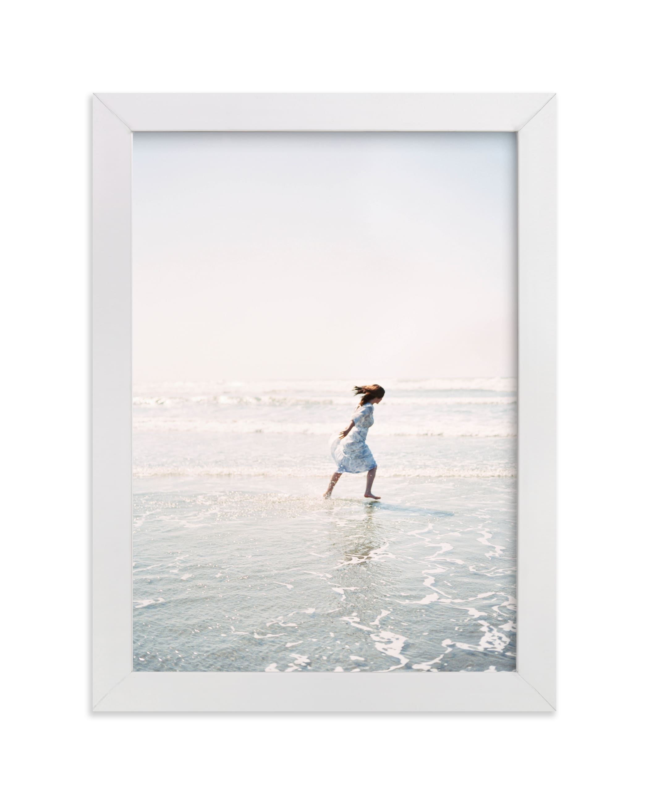 """""""Dreams + Waves"""" - Limited Edition Art Print by Jenni Kupelian in beautiful frame options and a variety of sizes."""