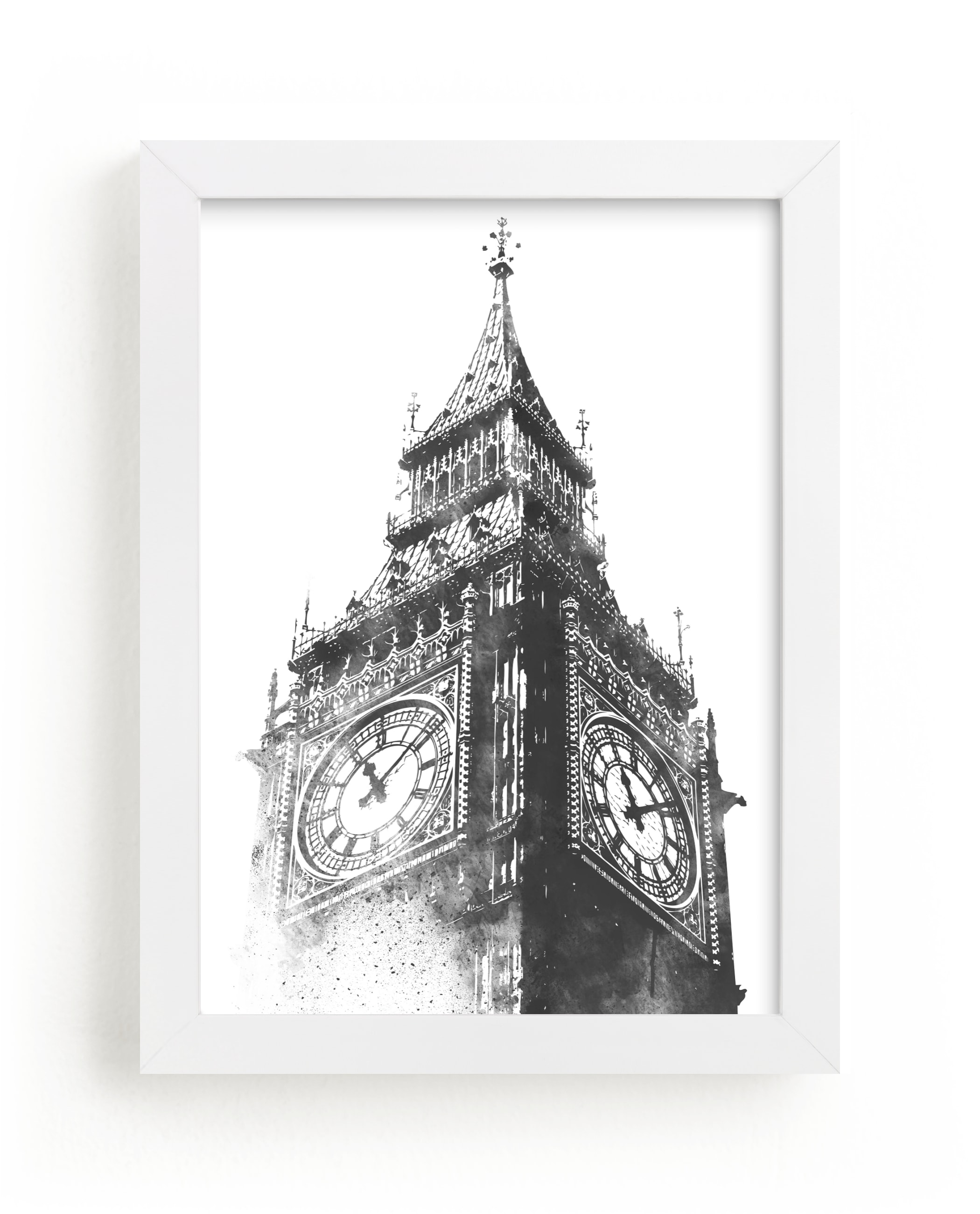 """Big Ben"" - Limited Edition Art Print by Paul Berthelot in beautiful frame options and a variety of sizes."