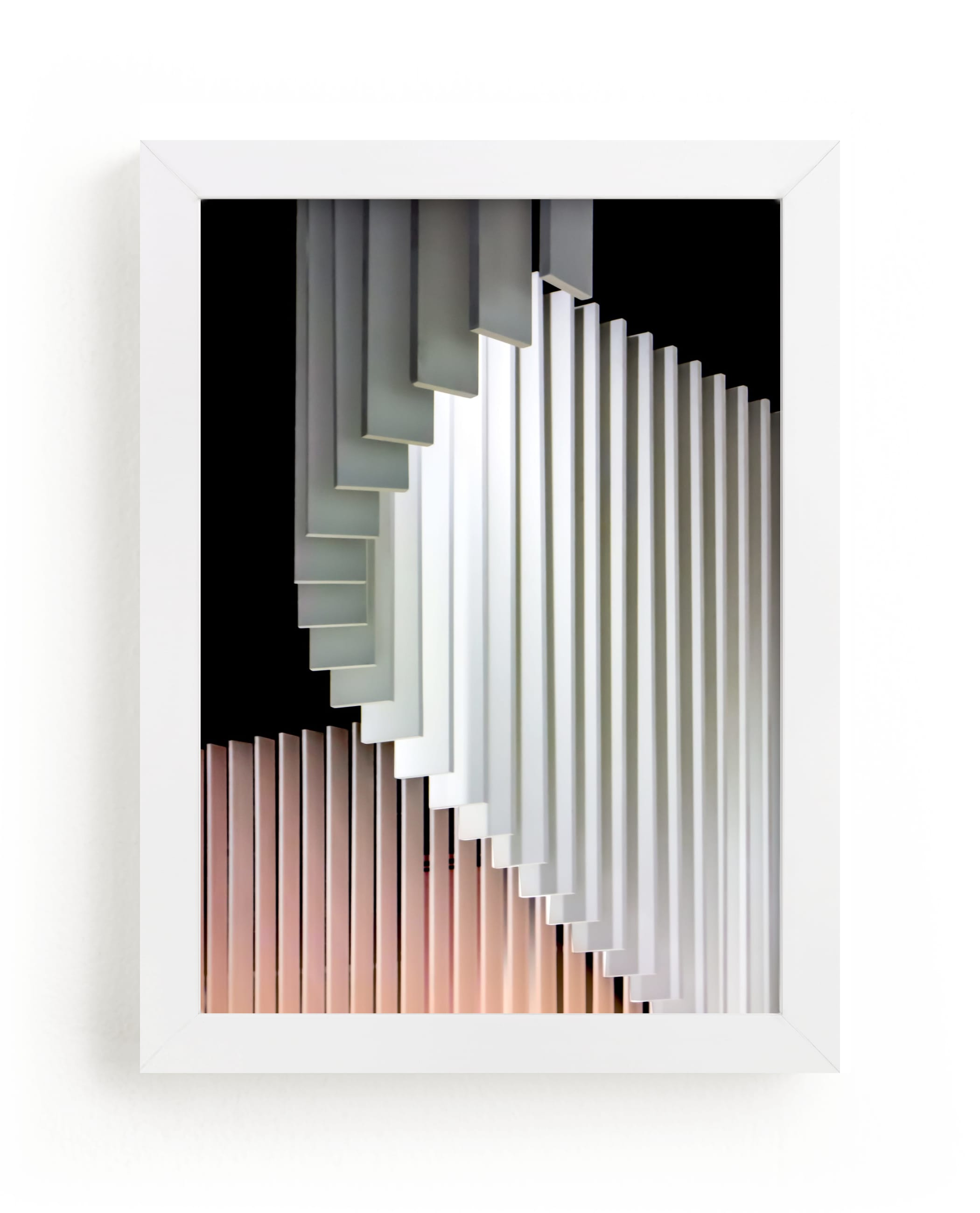 """""""Stacked Curvature """" - Limited Edition Art Print by Lisa Sundin in beautiful frame options and a variety of sizes."""