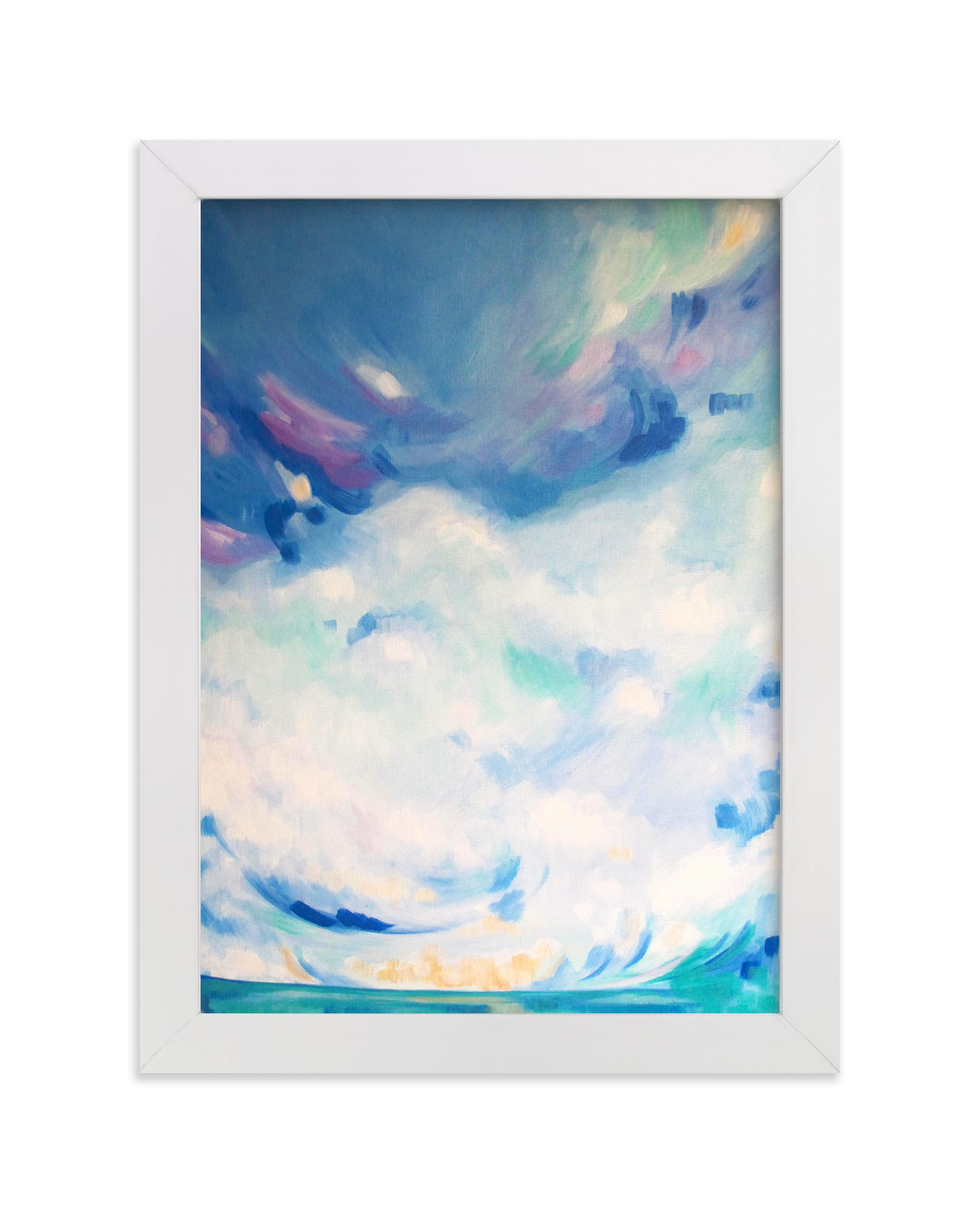 """beauty reflects beauty"" - Limited Edition Art Print by Jennifer Hallock in beautiful frame options and a variety of sizes."