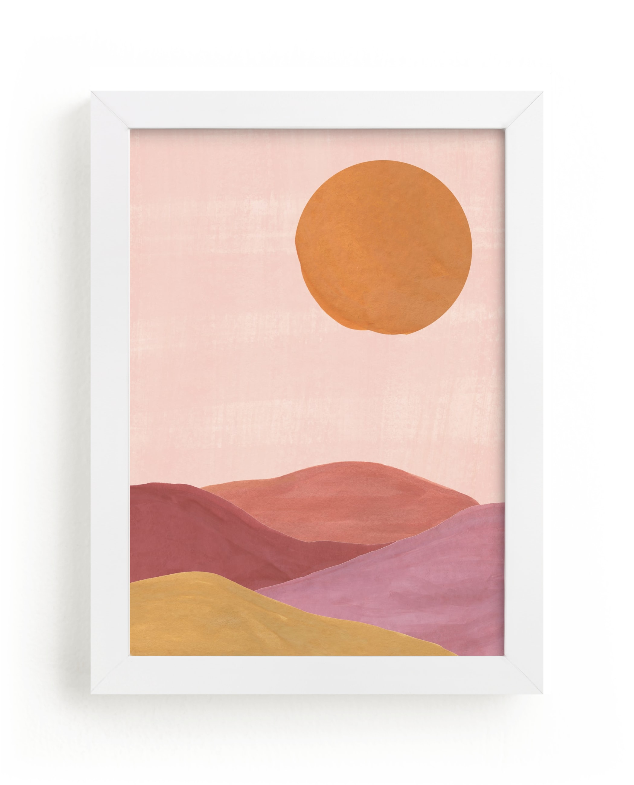 """""""Sand mountains"""" - Limited Edition Art Print by Annie Shapiro in beautiful frame options and a variety of sizes."""