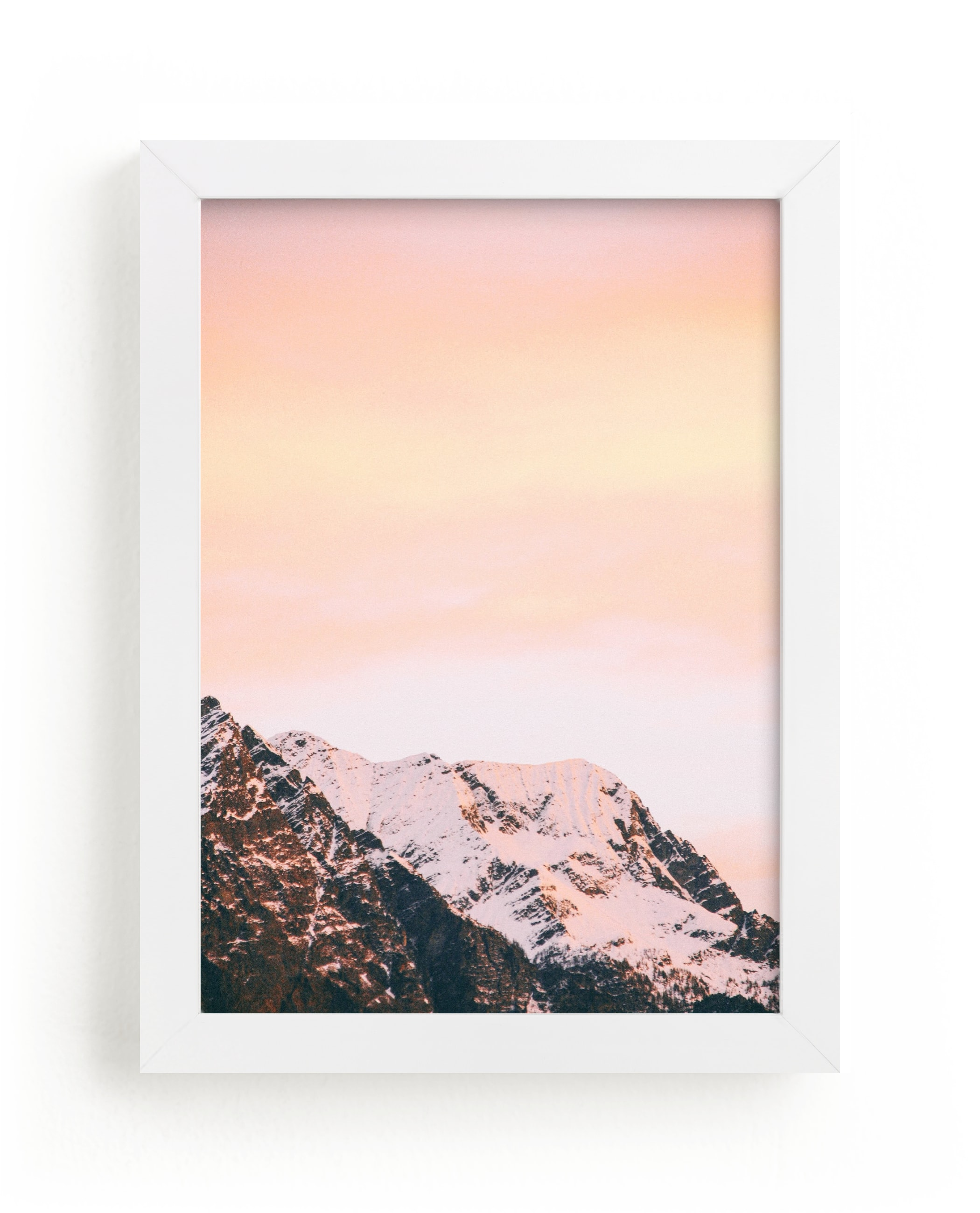"""""""Ombre Sky"""" - Limited Edition Art Print by lulu and isabelle in beautiful frame options and a variety of sizes."""