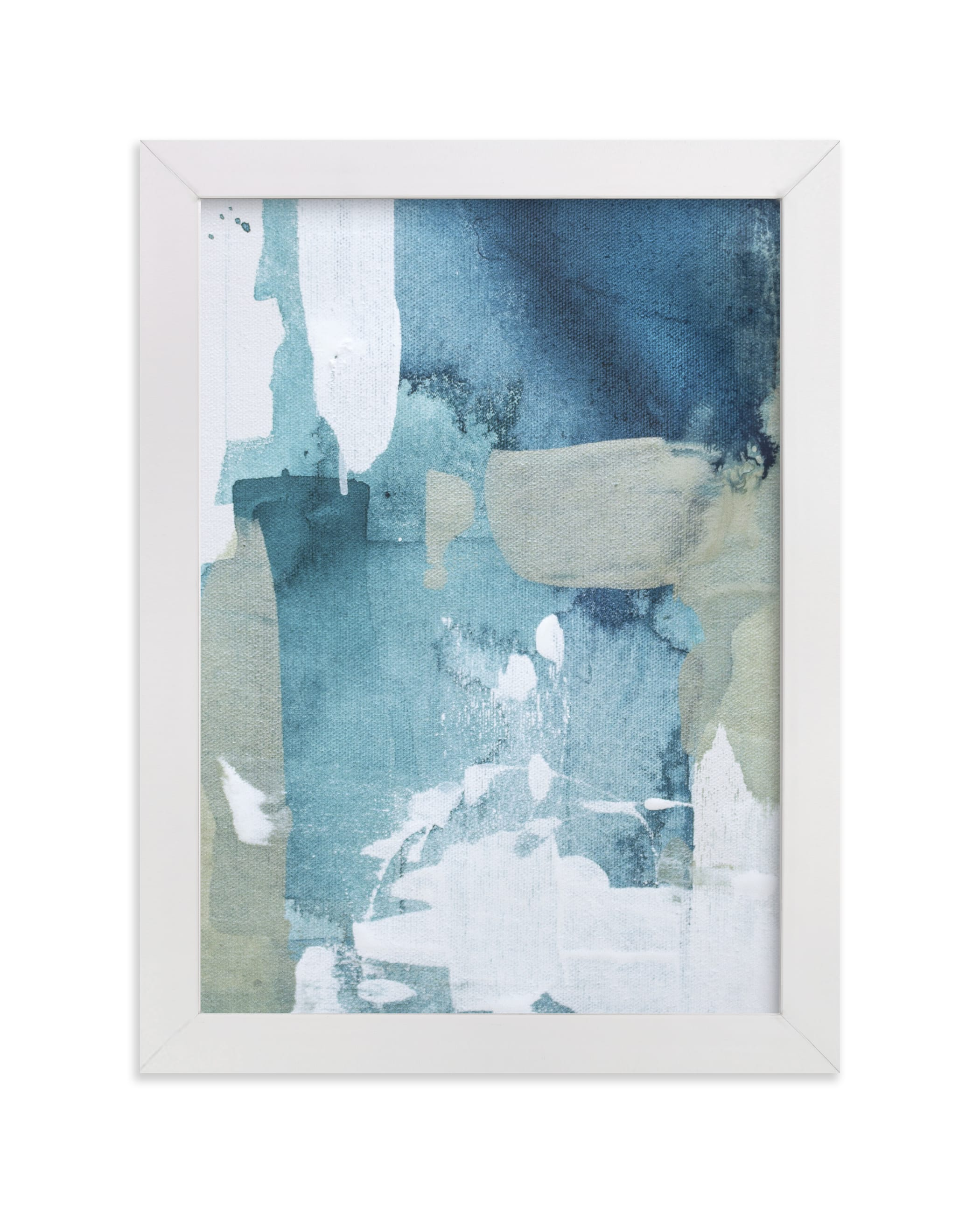 """Sea Glass No. 1"" - Limited Edition Art Print by Julia Contacessi in beautiful frame options and a variety of sizes."
