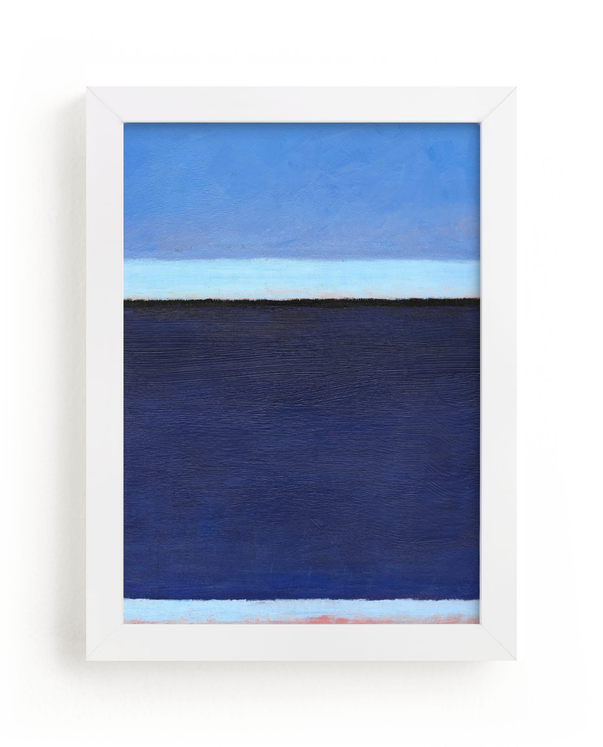 """Deep Blue Bay"" - Limited Edition Art Print by Carol C. Young in beautiful frame options and a variety of sizes."