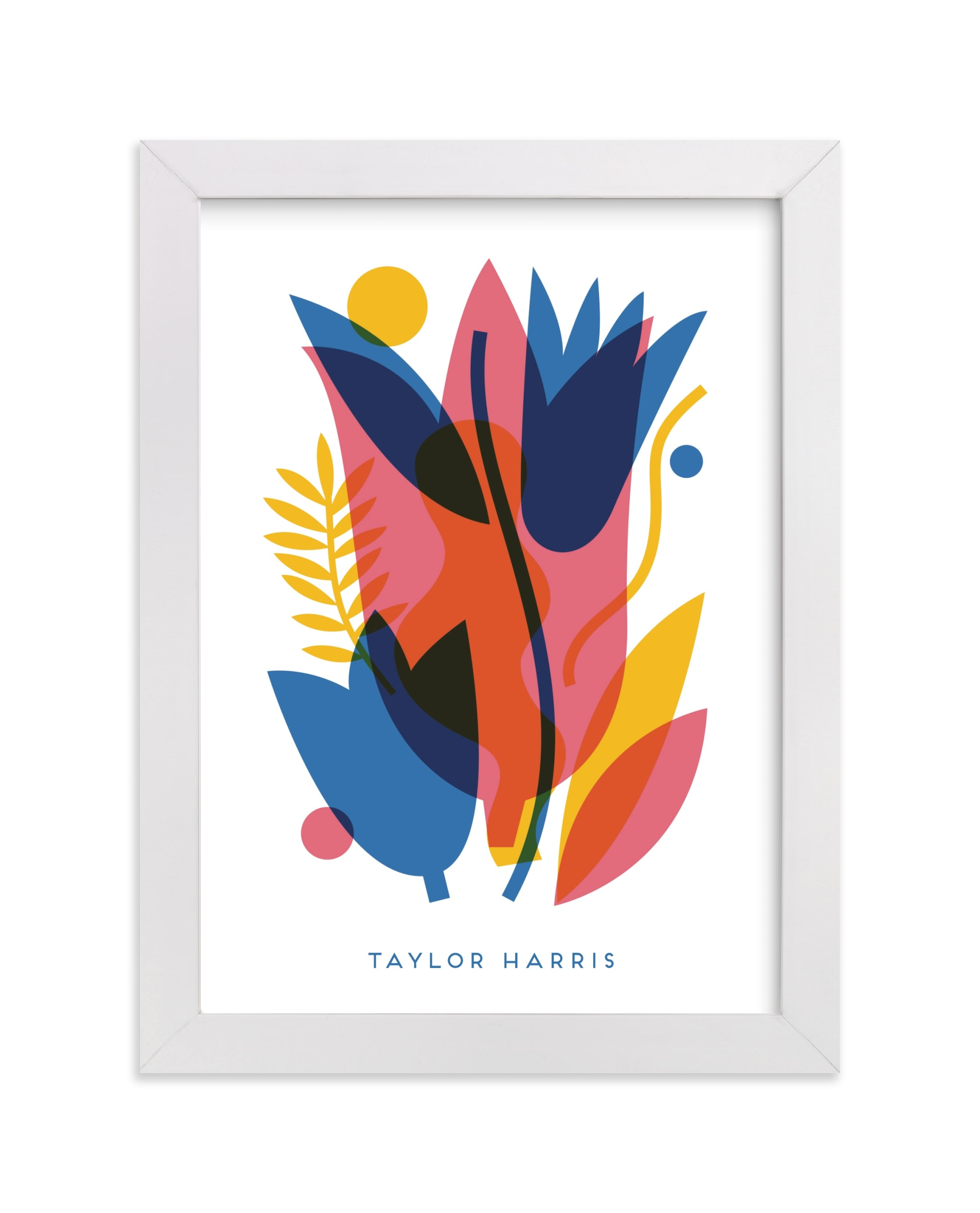 """""""bold & graphic"""" - Children's Custom Art Print by Alexandra Dzh in beautiful frame options and a variety of sizes."""