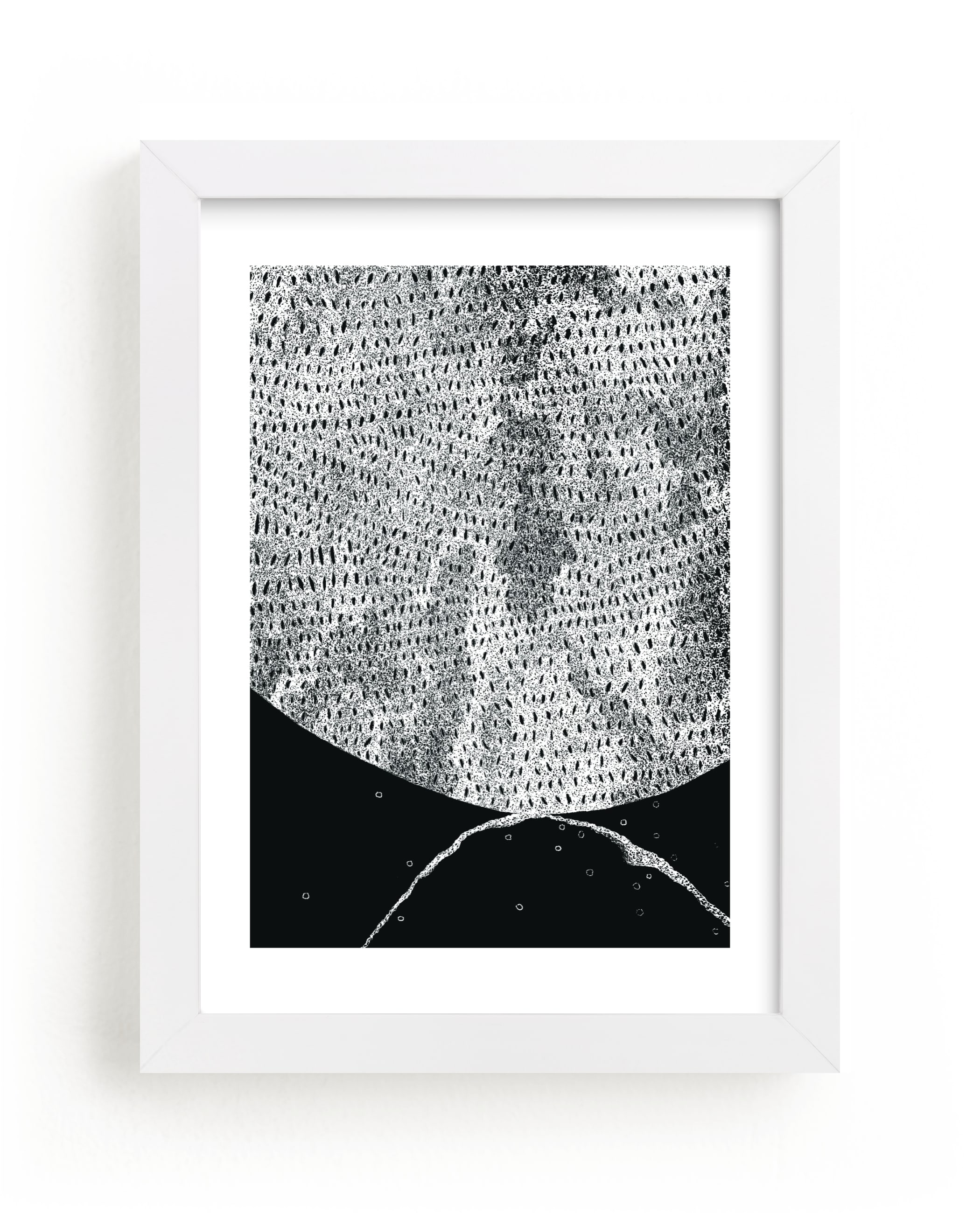 """""""Lunar Landscape"""" - Limited Edition Art Print by Pooja Pittie in beautiful frame options and a variety of sizes."""