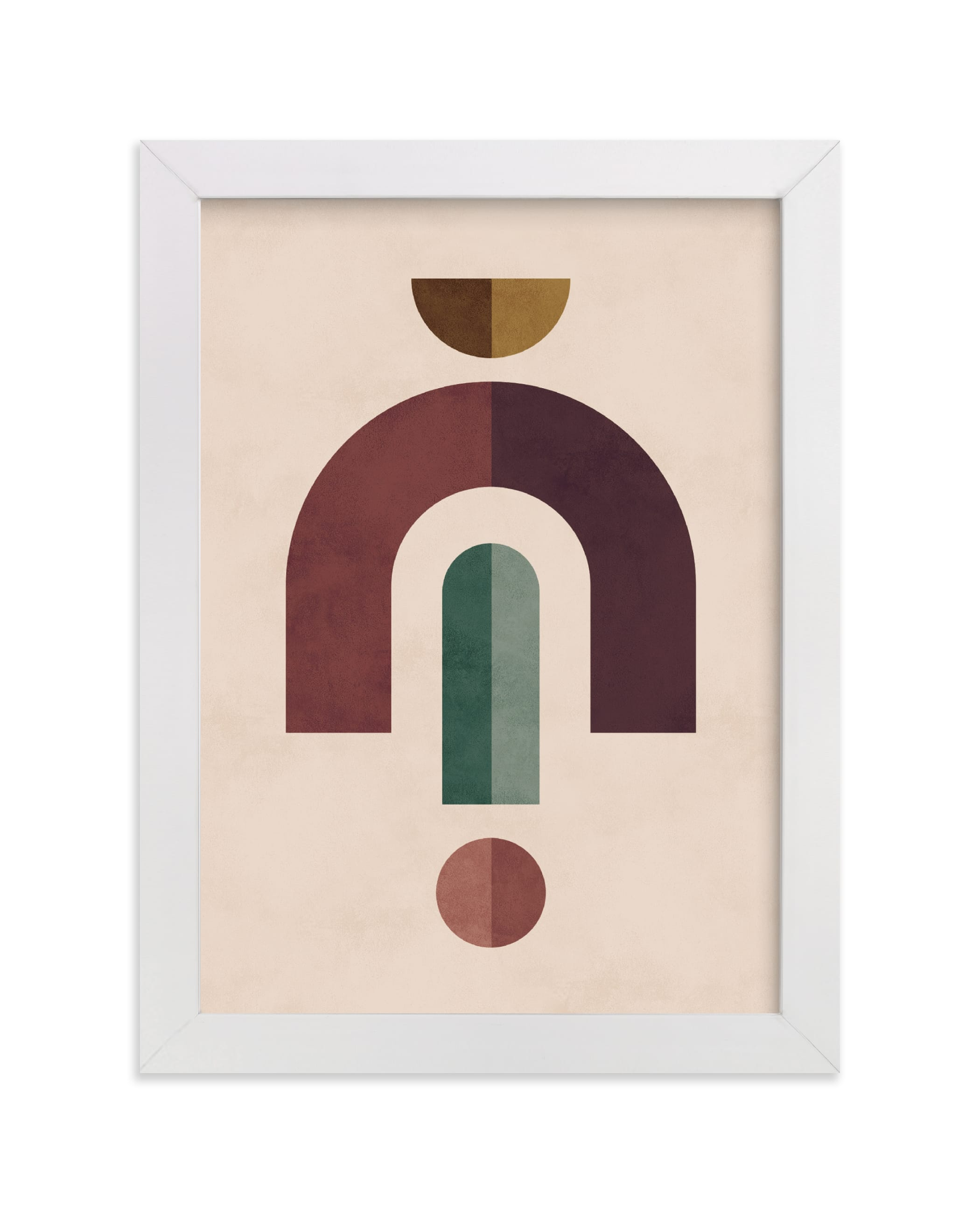 """Geometric 2"" - Limited Edition Art Print by Kelly Schmidt in beautiful frame options and a variety of sizes."