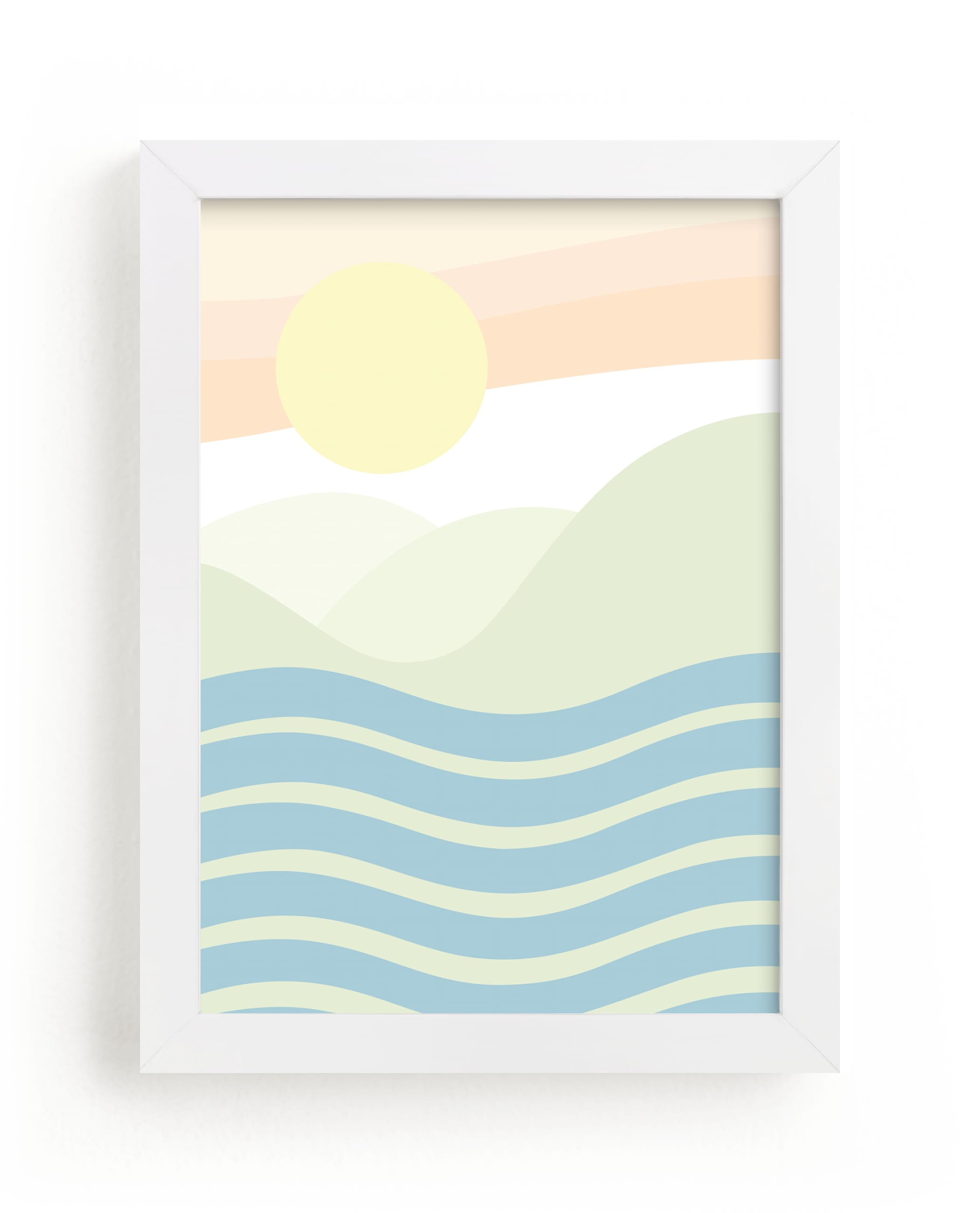 """We Keep It Rockin'"" - Limited Edition Art Print by Summer Strauch in beautiful frame options and a variety of sizes."