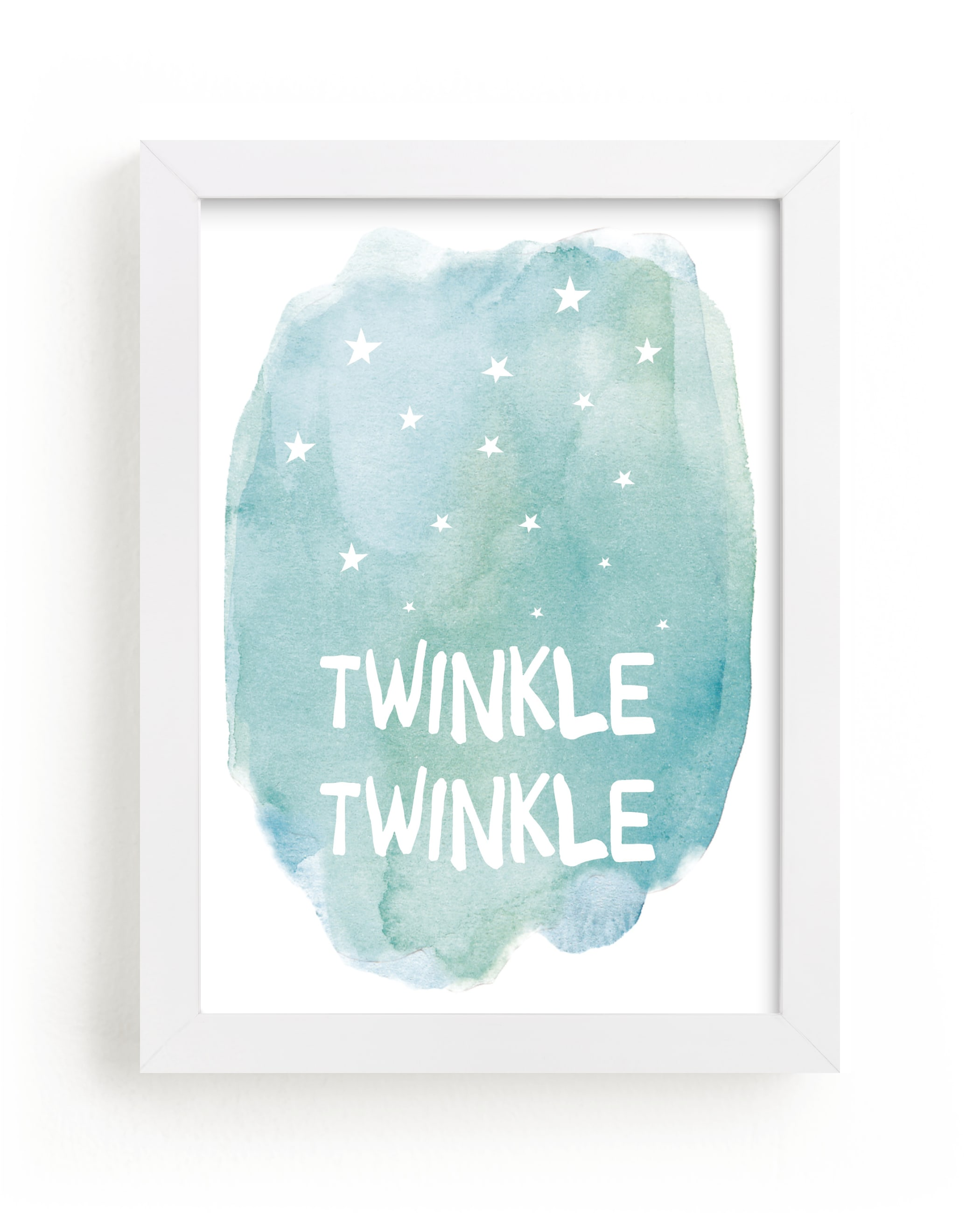 """""""Twinkle Twinkle"""" - Limited Edition Art Print by Amy Hall in beautiful frame options and a variety of sizes."""