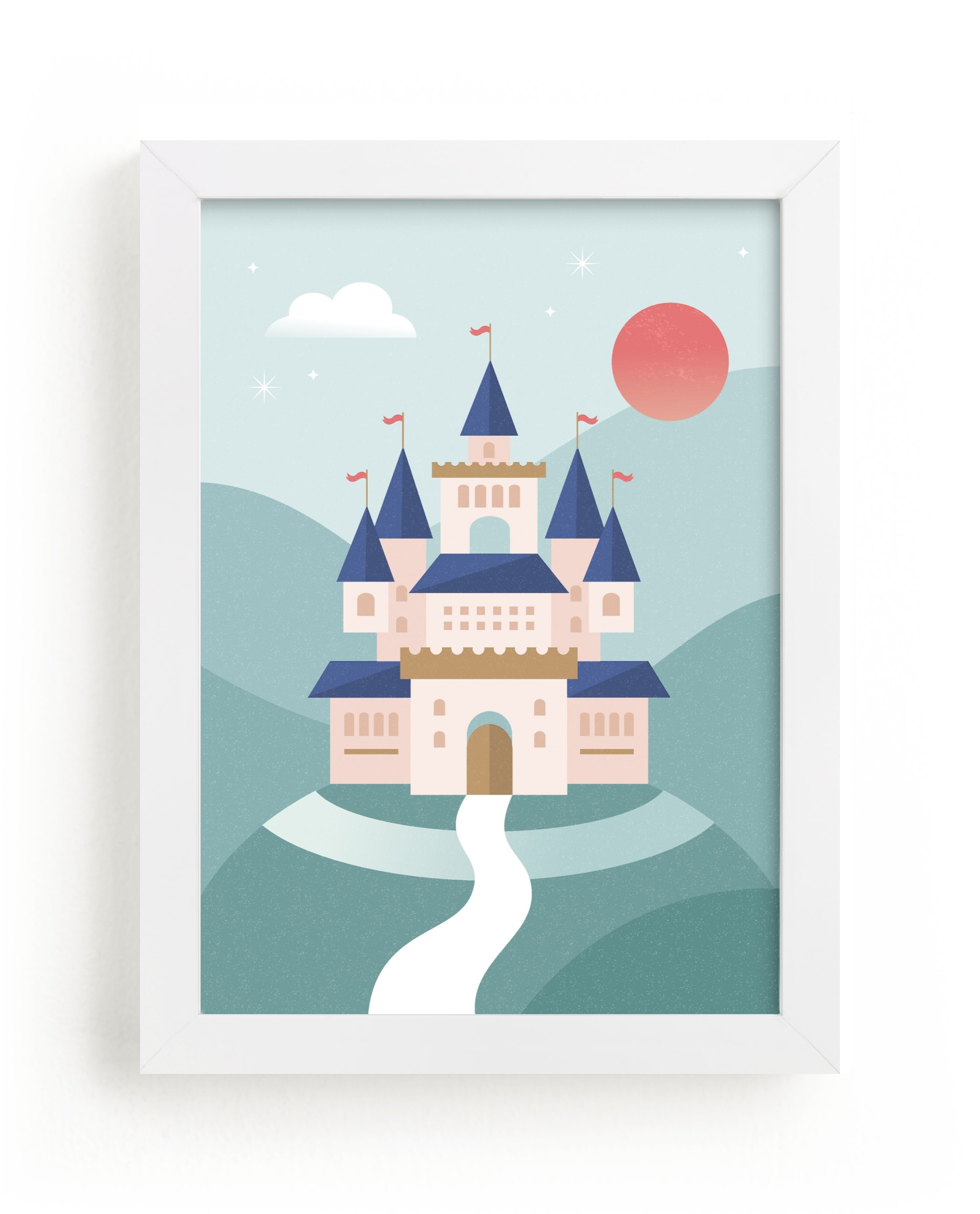"""""""Fairy Tale"""" - Limited Edition Art Print by Kristen Smith in beautiful frame options and a variety of sizes."""