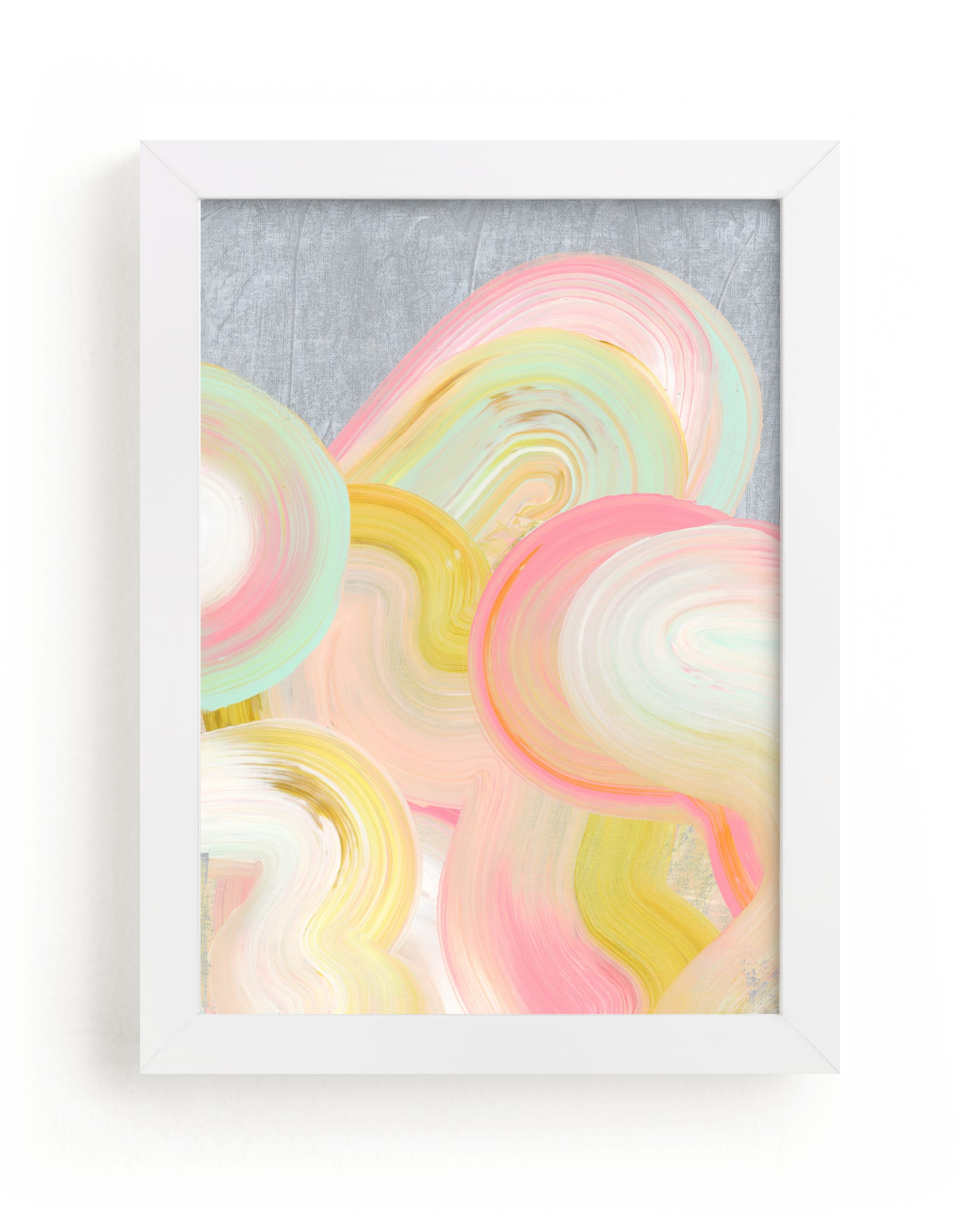 """Iced Swirls"" - Limited Edition Art Print by Carol Barber in beautiful frame options and a variety of sizes."