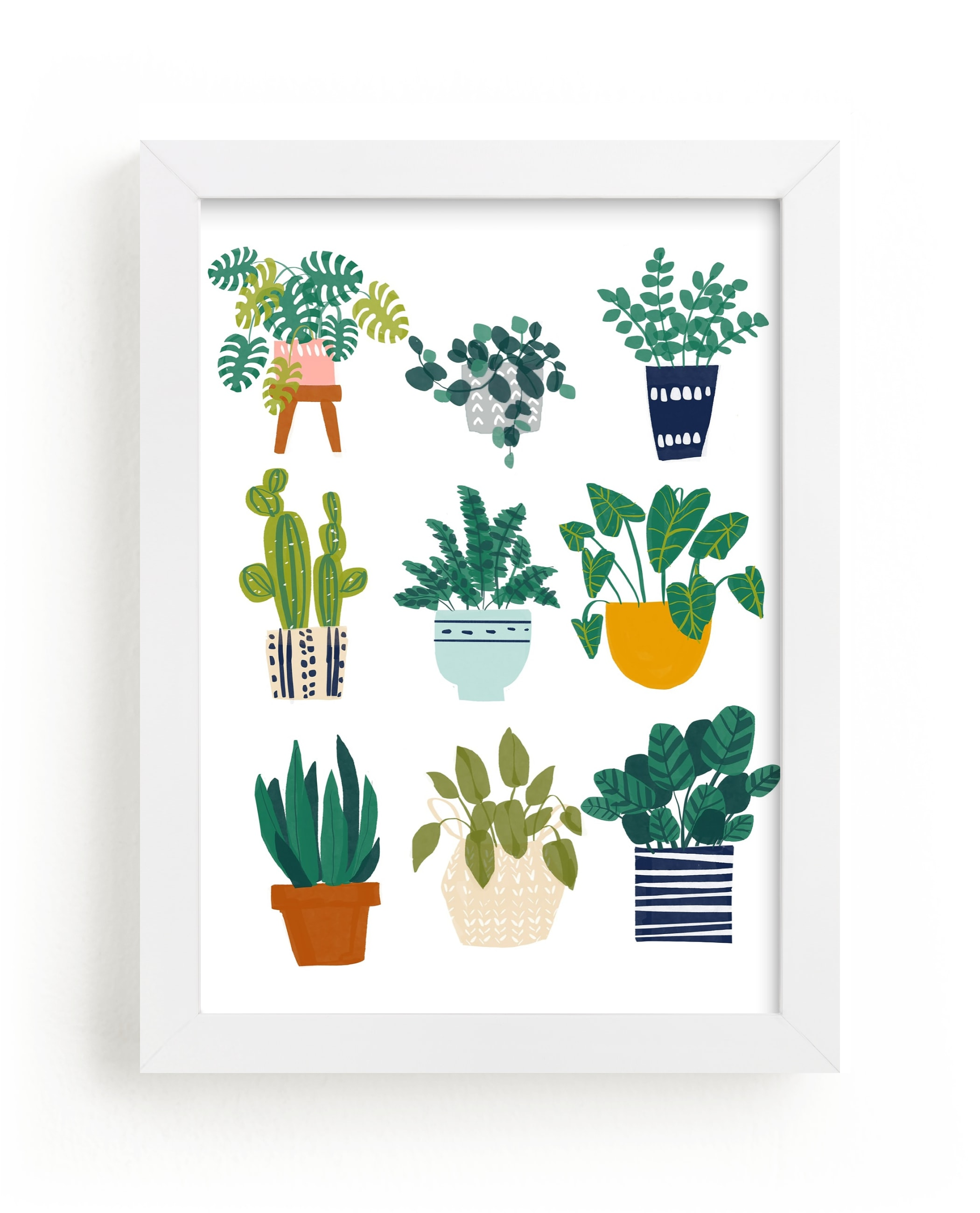 """Planted"" - Limited Edition Art Print by Afton Harding in beautiful frame options and a variety of sizes."