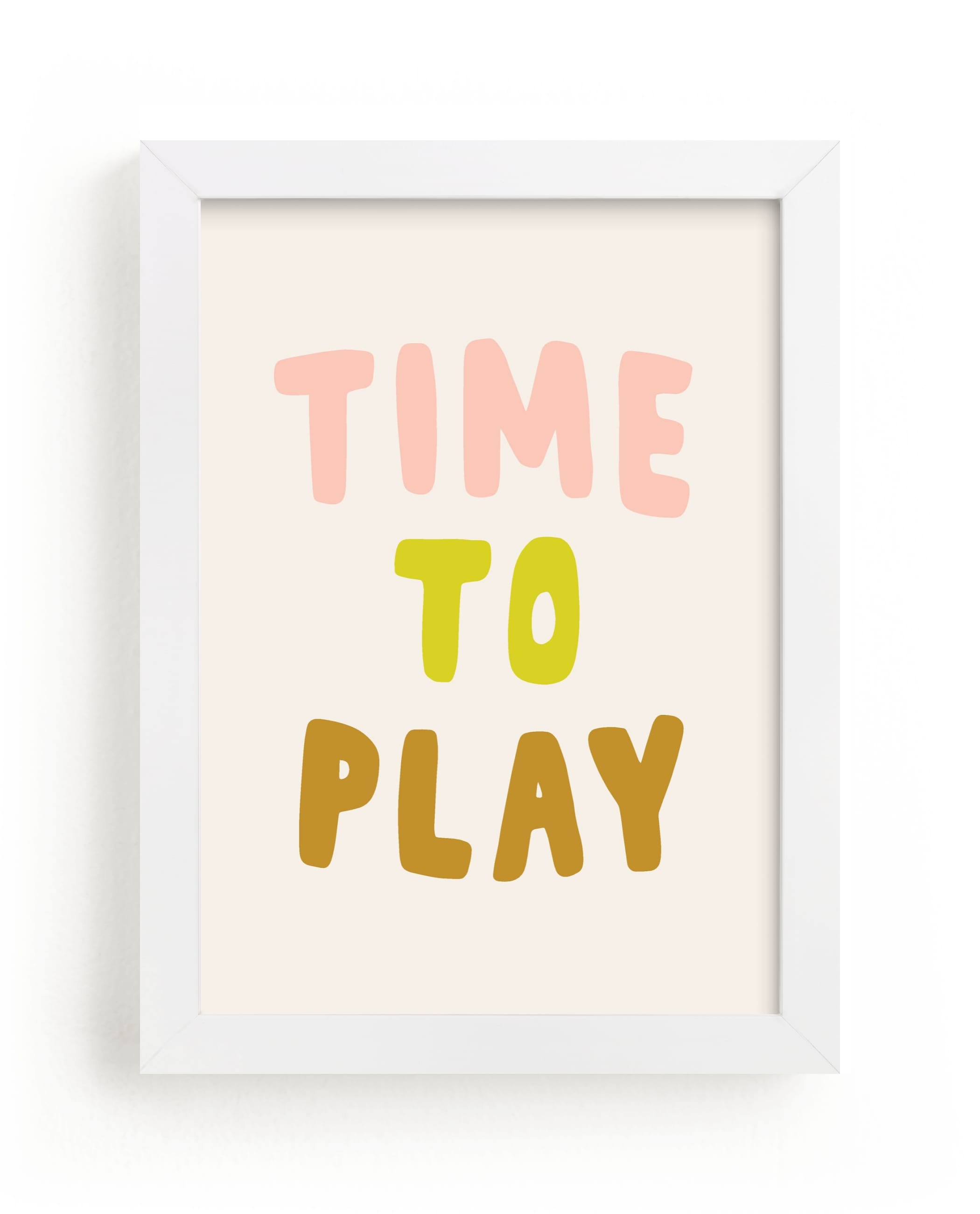 """""""Time to Play"""" - Limited Edition Art Print by Alicia Schultz in beautiful frame options and a variety of sizes."""