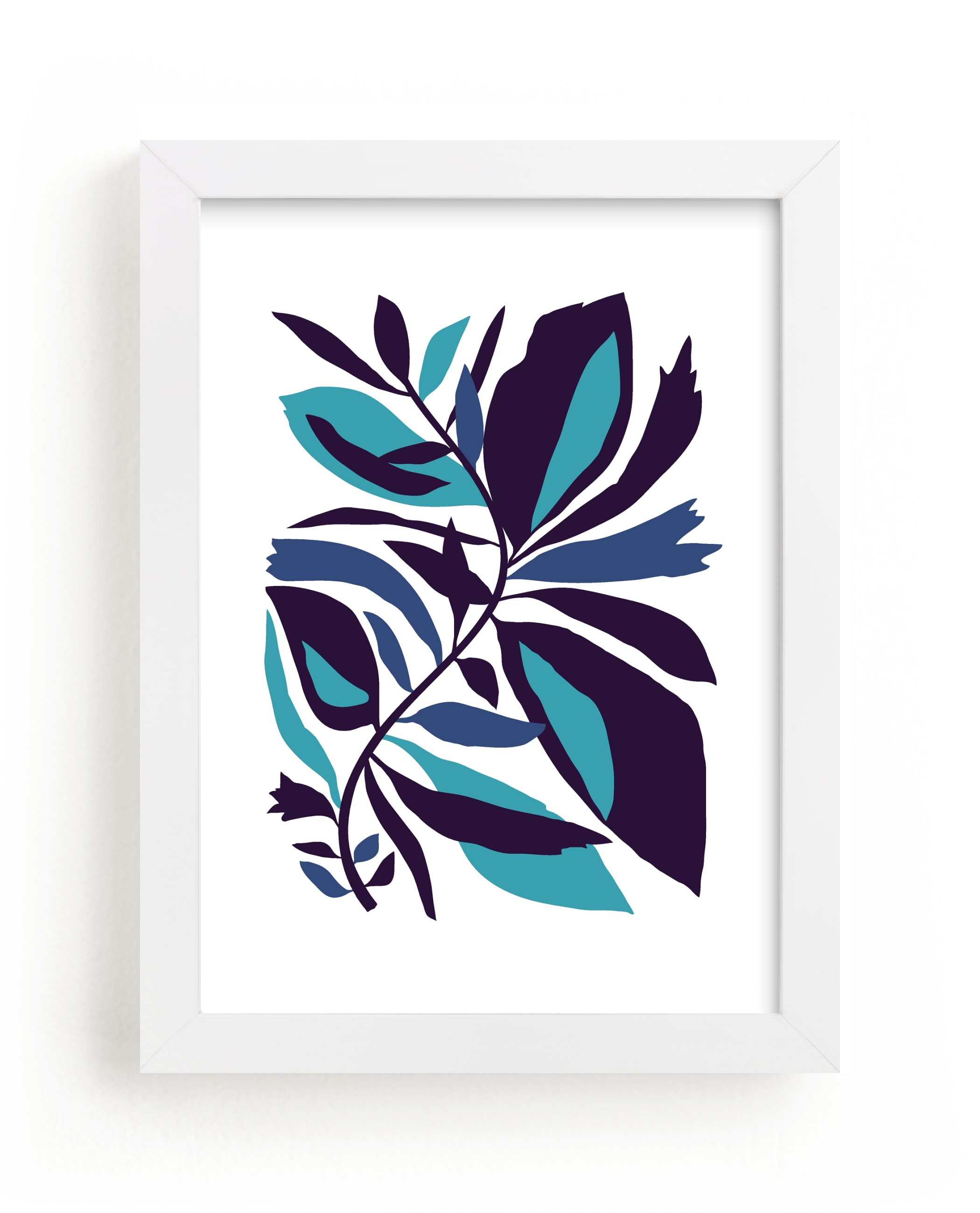 """Foliage"" - Limited Edition Art Print by Daniela in beautiful frame options and a variety of sizes."