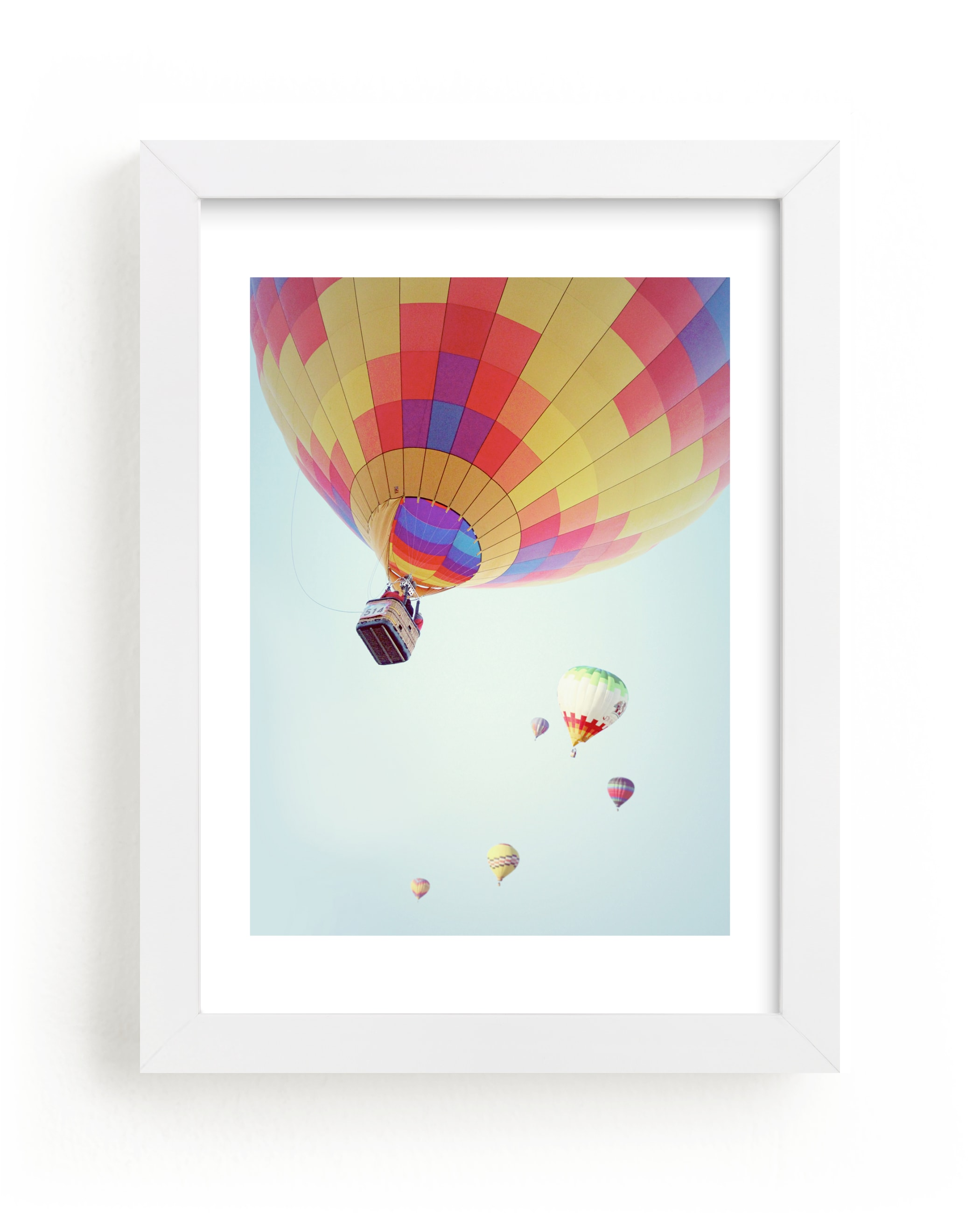 """""""Summer Sky"""" - Limited Edition Art Print by Haley Warner in beautiful frame options and a variety of sizes."""