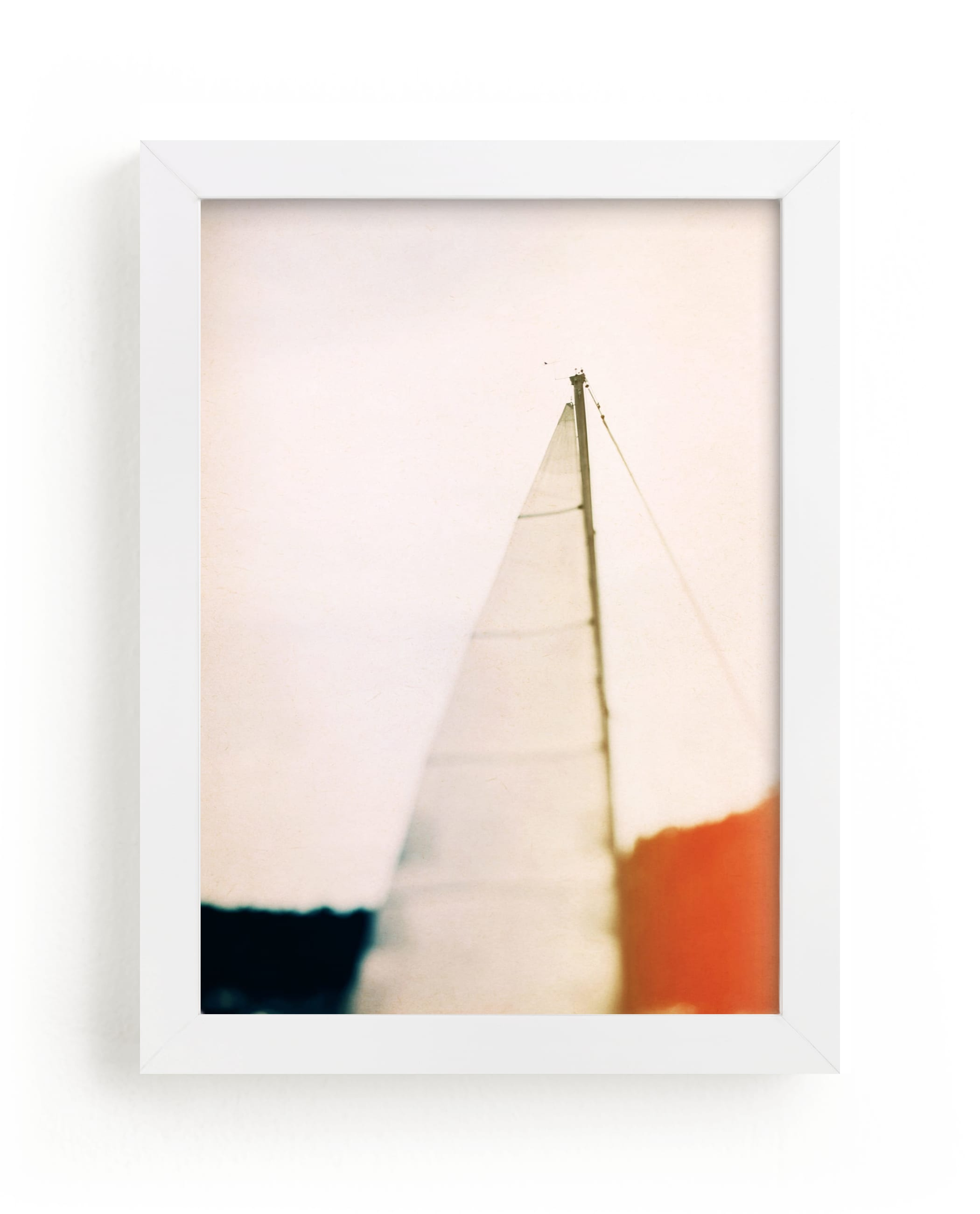 """""""Sunset Sail"""" - Limited Edition Art Print by ALICIA BOCK in beautiful frame options and a variety of sizes."""