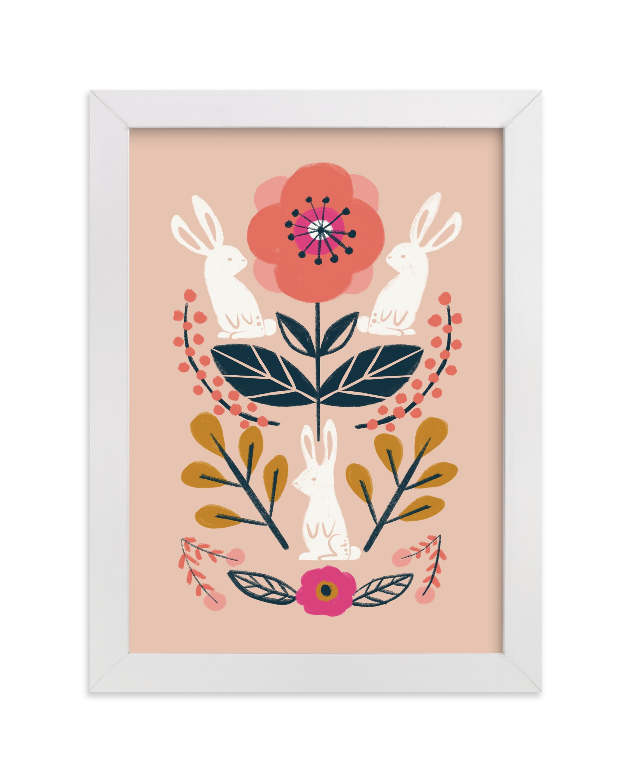 """""""Forest Friends"""" - Limited Edition Art Print by Afton Harding in beautiful frame options and a variety of sizes."""