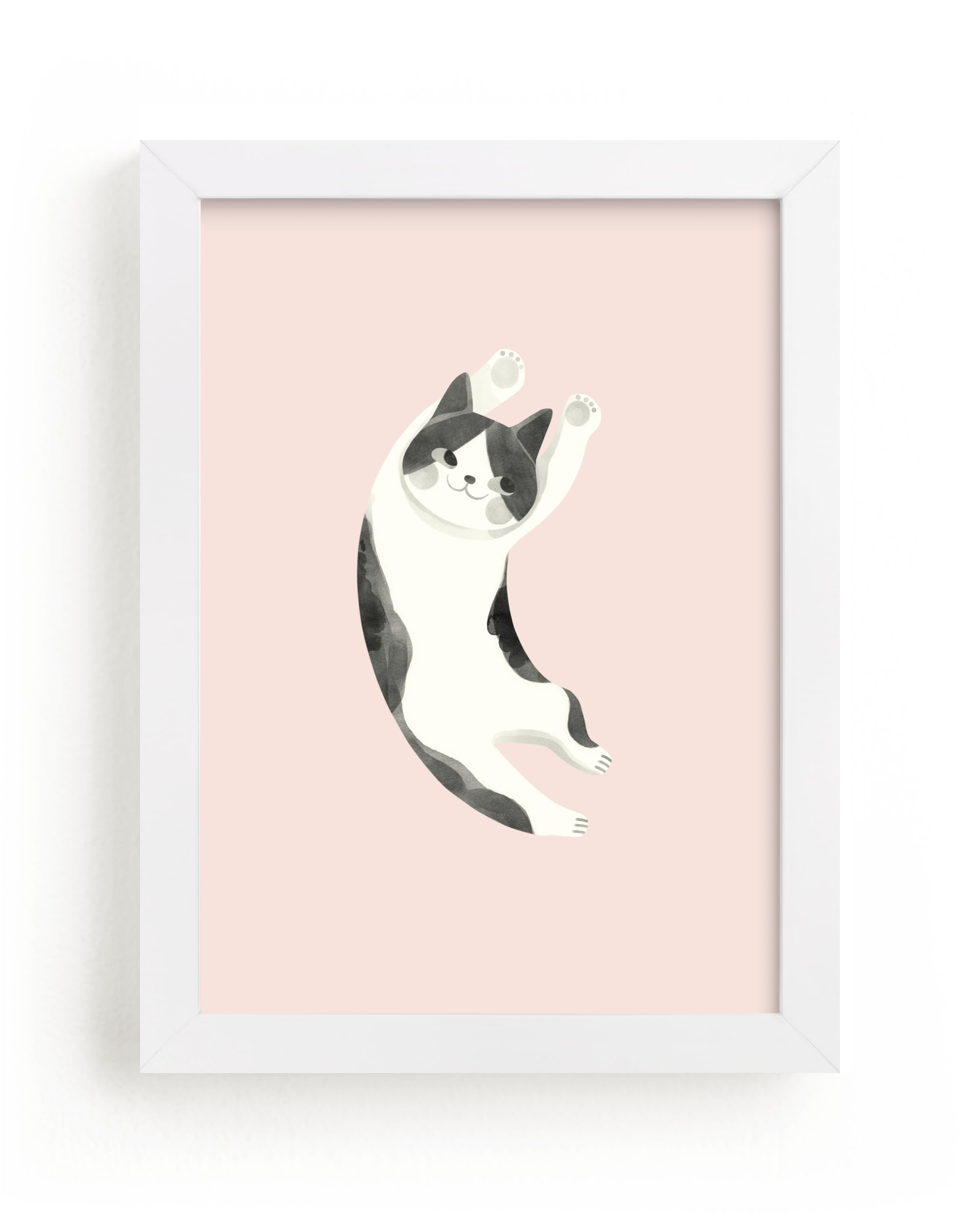 """""""Feline"""" - Limited Edition Art Print by Vivian Yiwing in beautiful frame options and a variety of sizes."""