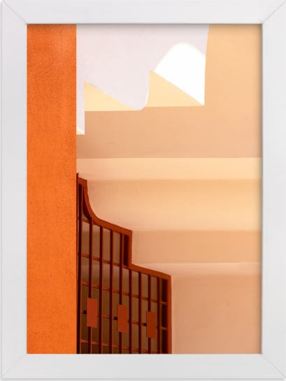 This is a black art by Lisa Sundin called Moroccan Angles II.